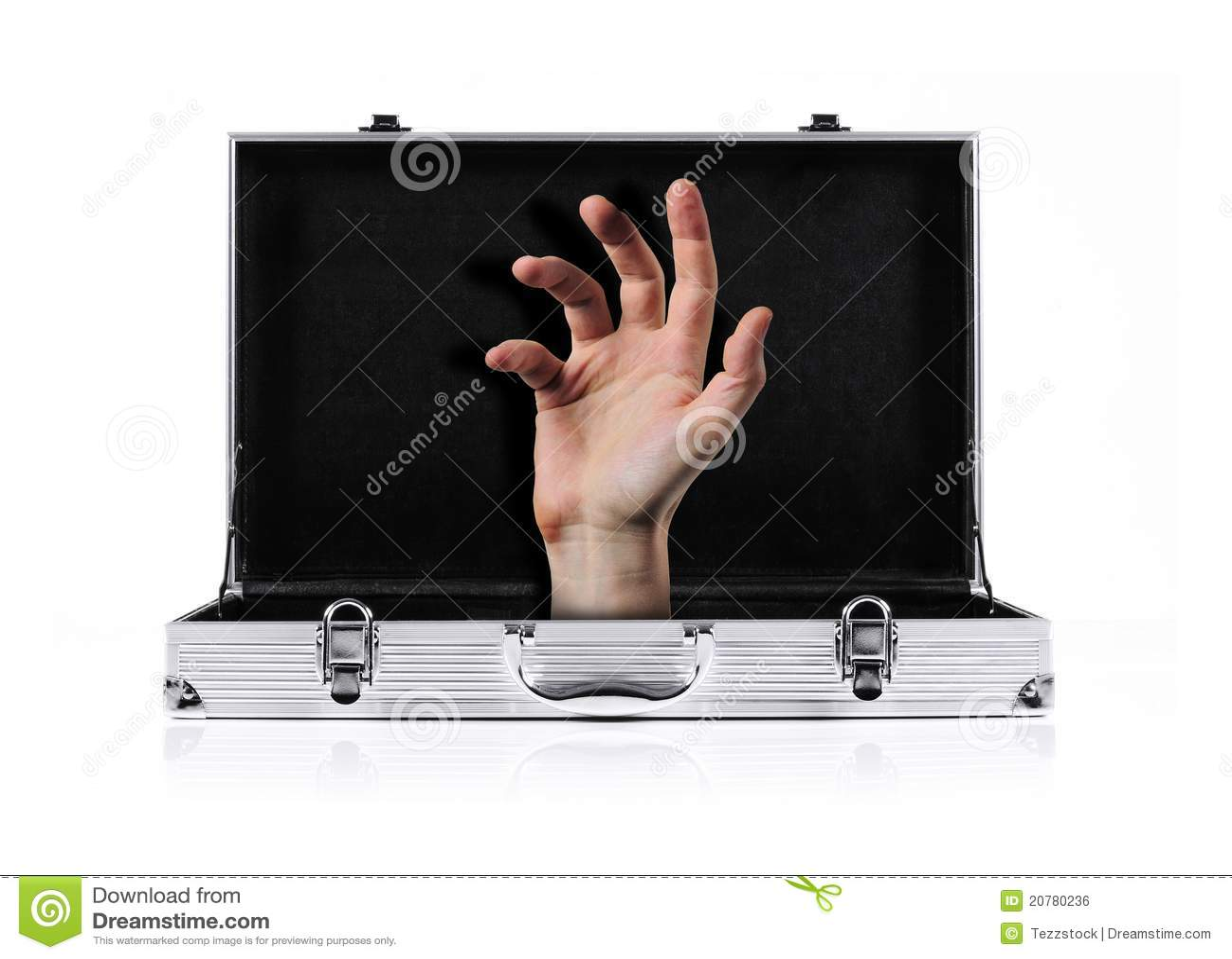χέρι χαρτοφυλάκων