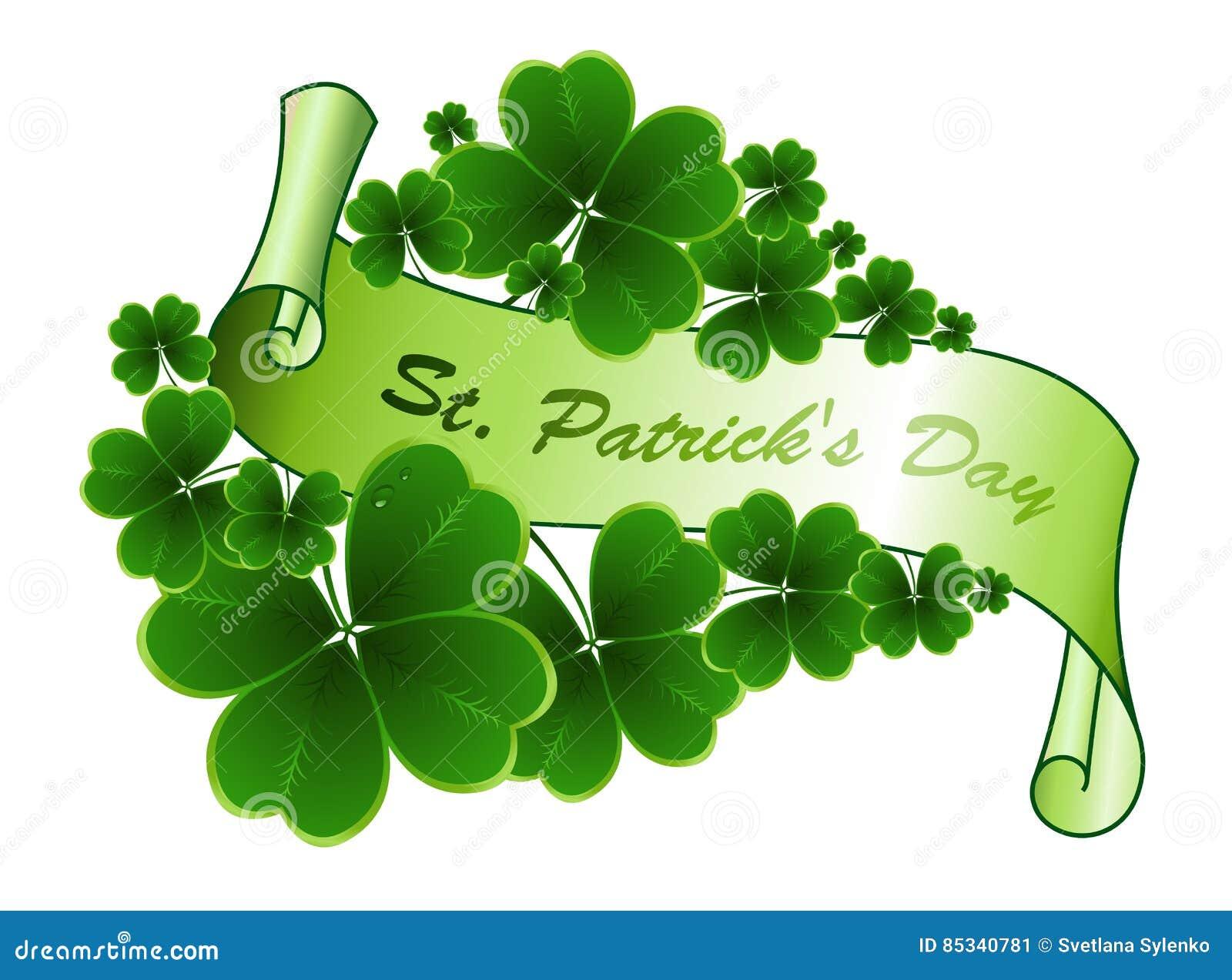 Χαιρετισμός ημέρας του ST Patricks