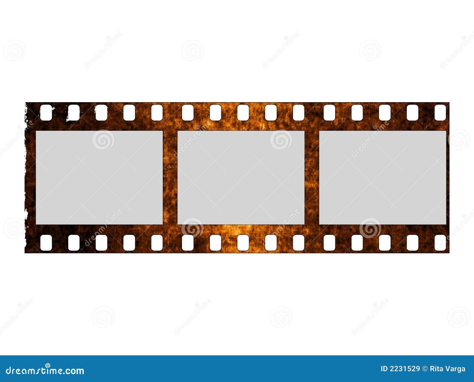 χαλασμένο λωρίδα ταινιών