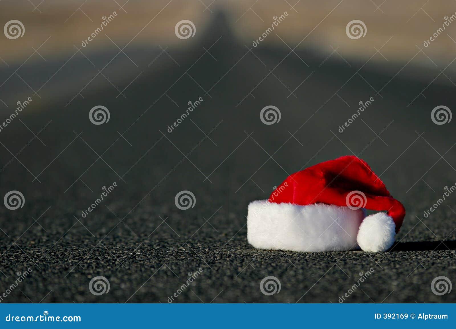 χαμένο καπέλο santa