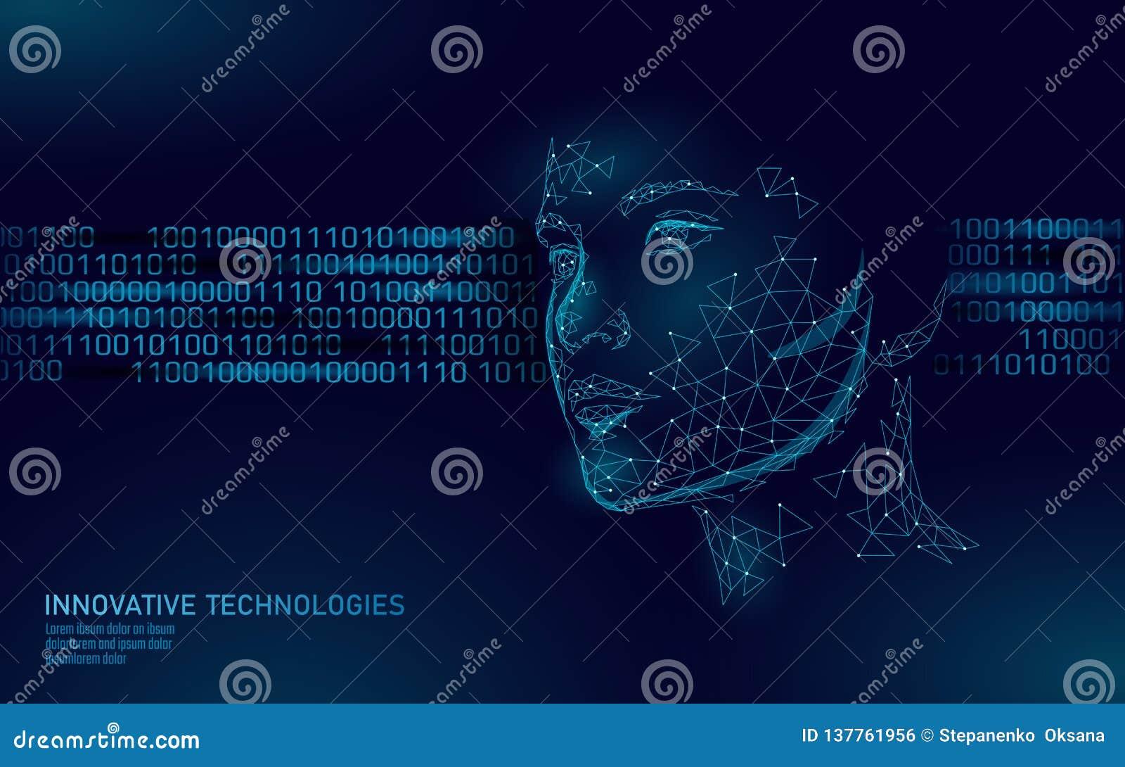 Χαμηλός πολυ θηλυκός βιομετρικός προσδιορισμός ανθρώπινου προσώπου Έννοια συστημάτων αναγνώρισης Τα προσωπικά στοιχεία εξασφαλίζο