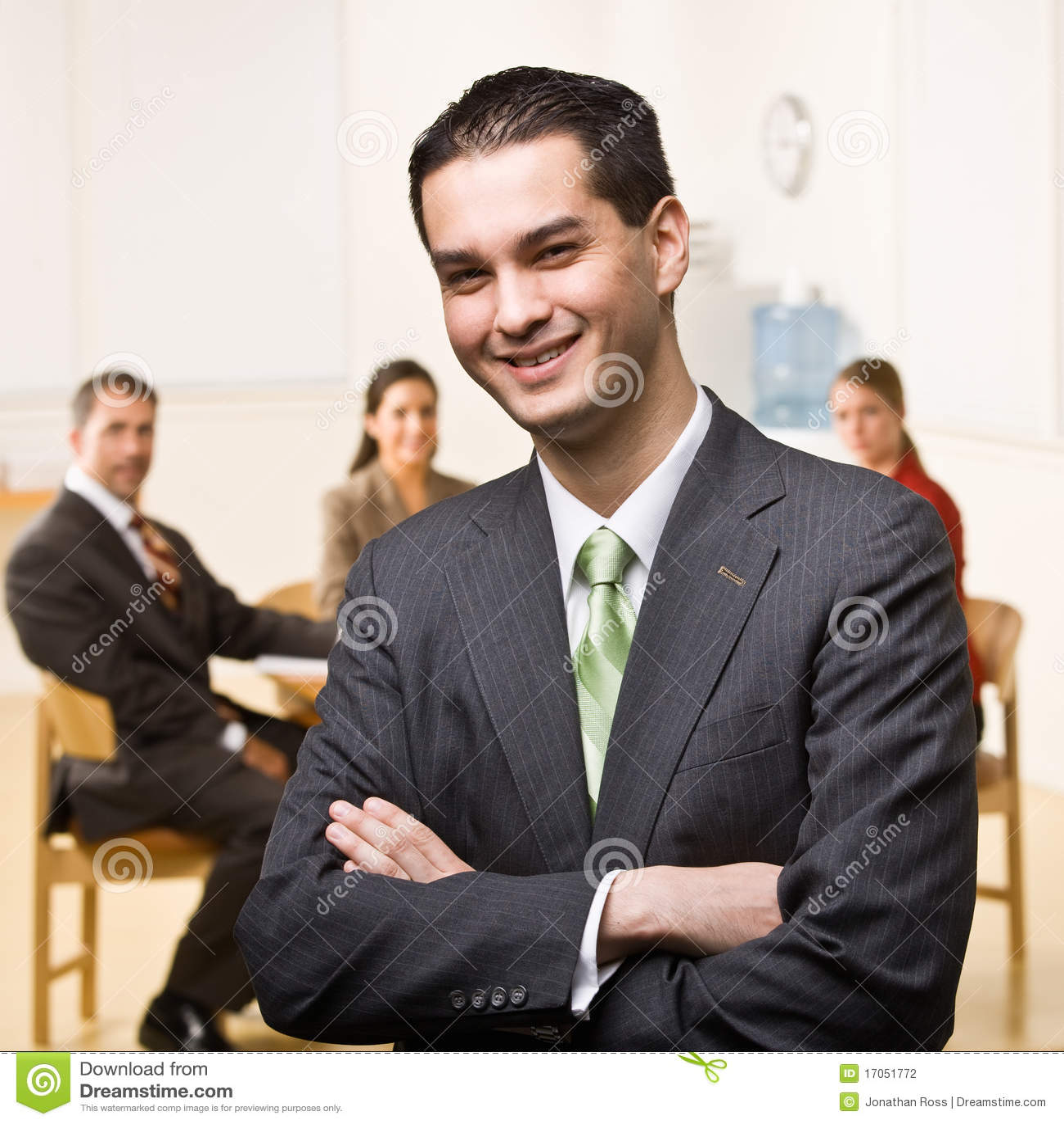 χαμόγελο επιχειρηματιών