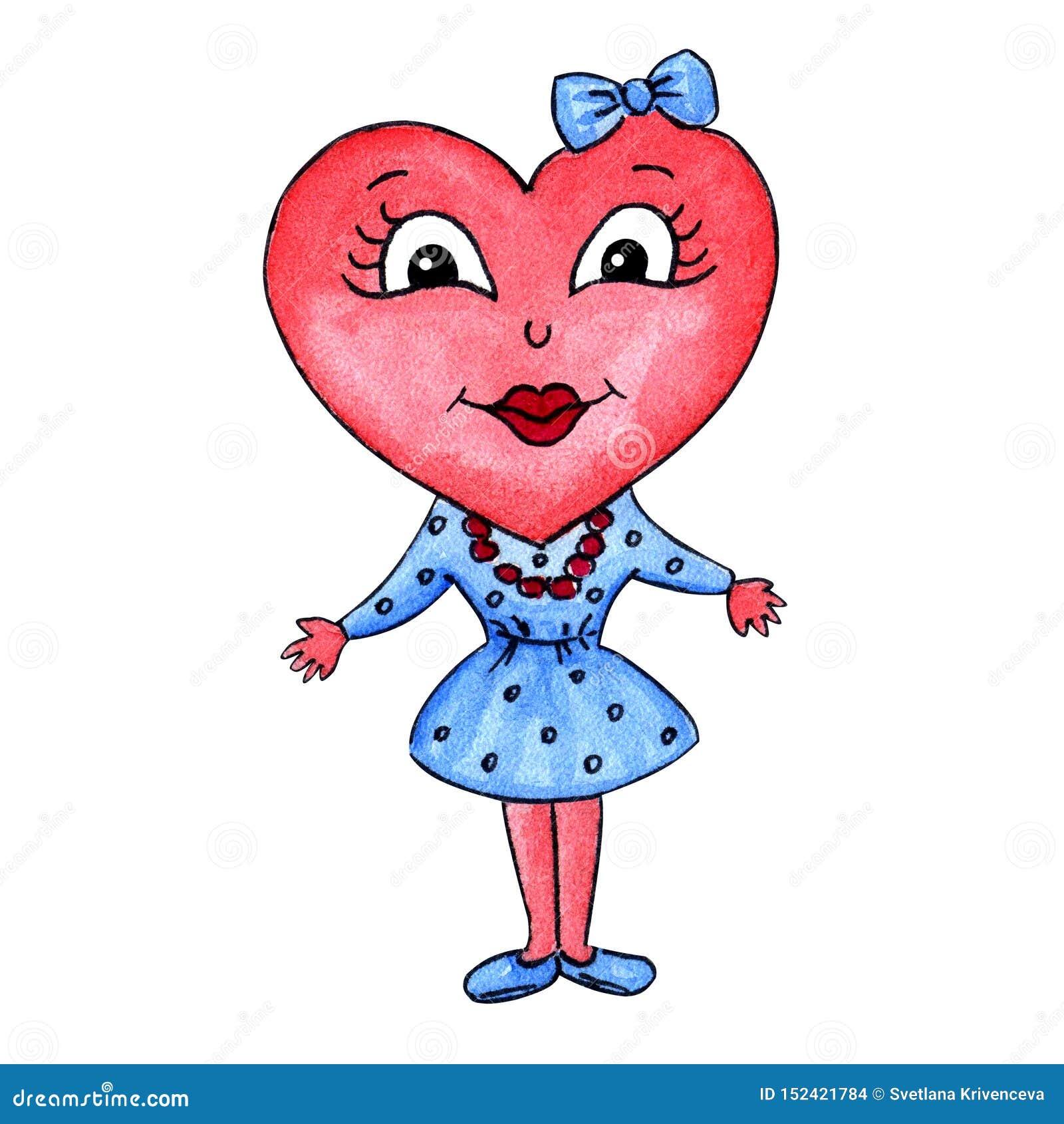 Χαρακτήρας κοριτσιών καρδιών