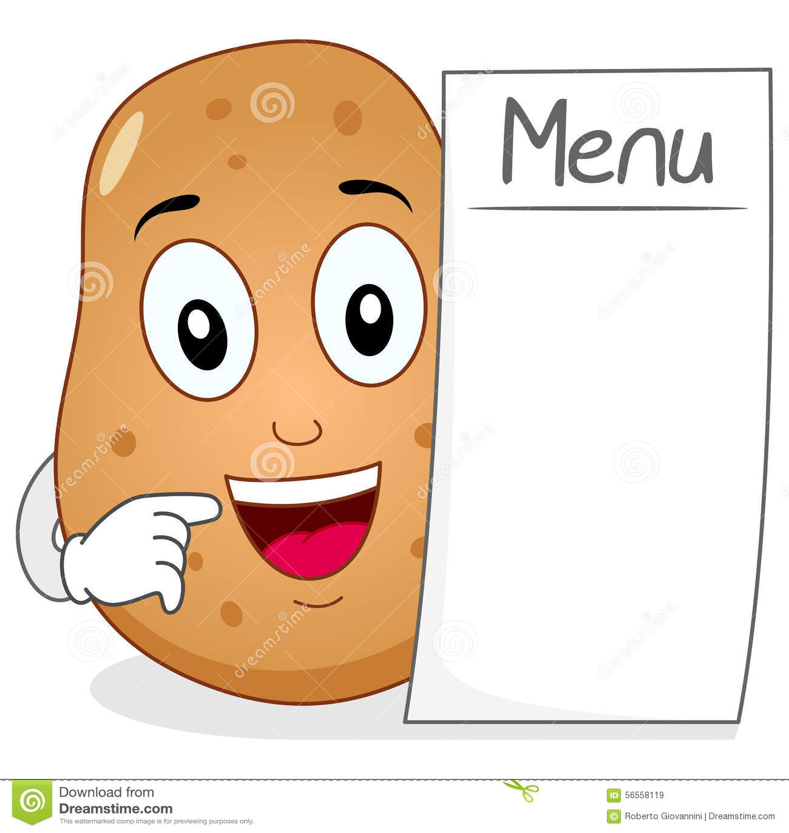 Download Χαριτωμένος χαρακτήρας πατατών με τις κενές επιλογές Διανυσματική απεικόνιση - εικονογραφία από μάτια, cartoon: 56558119