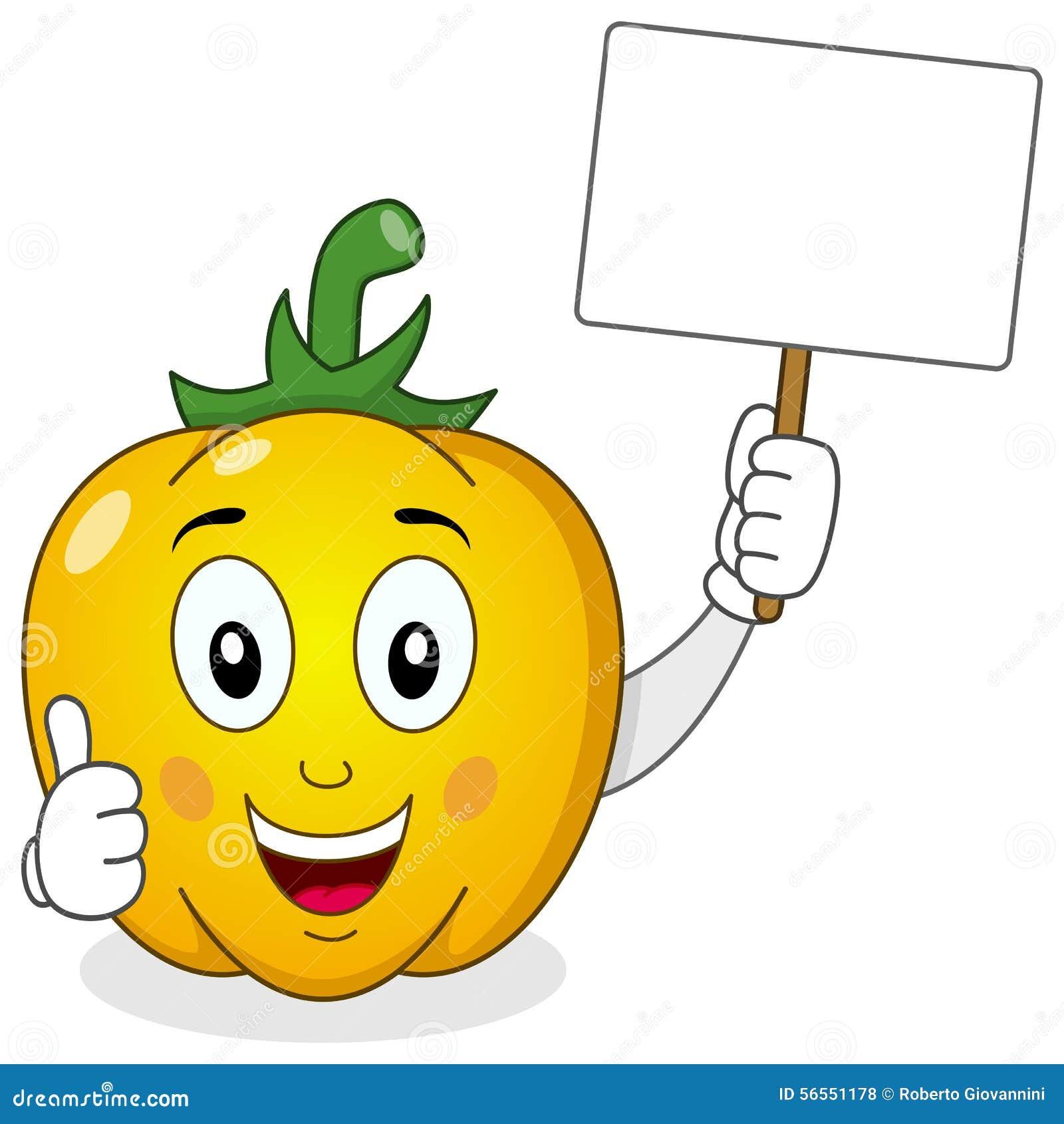 Download Χαριτωμένο κίτρινο κενό έμβλημα εκμετάλλευσης πιπεριών Διανυσματική απεικόνιση - εικονογραφία από διάνυσμα, αστείος: 56551178