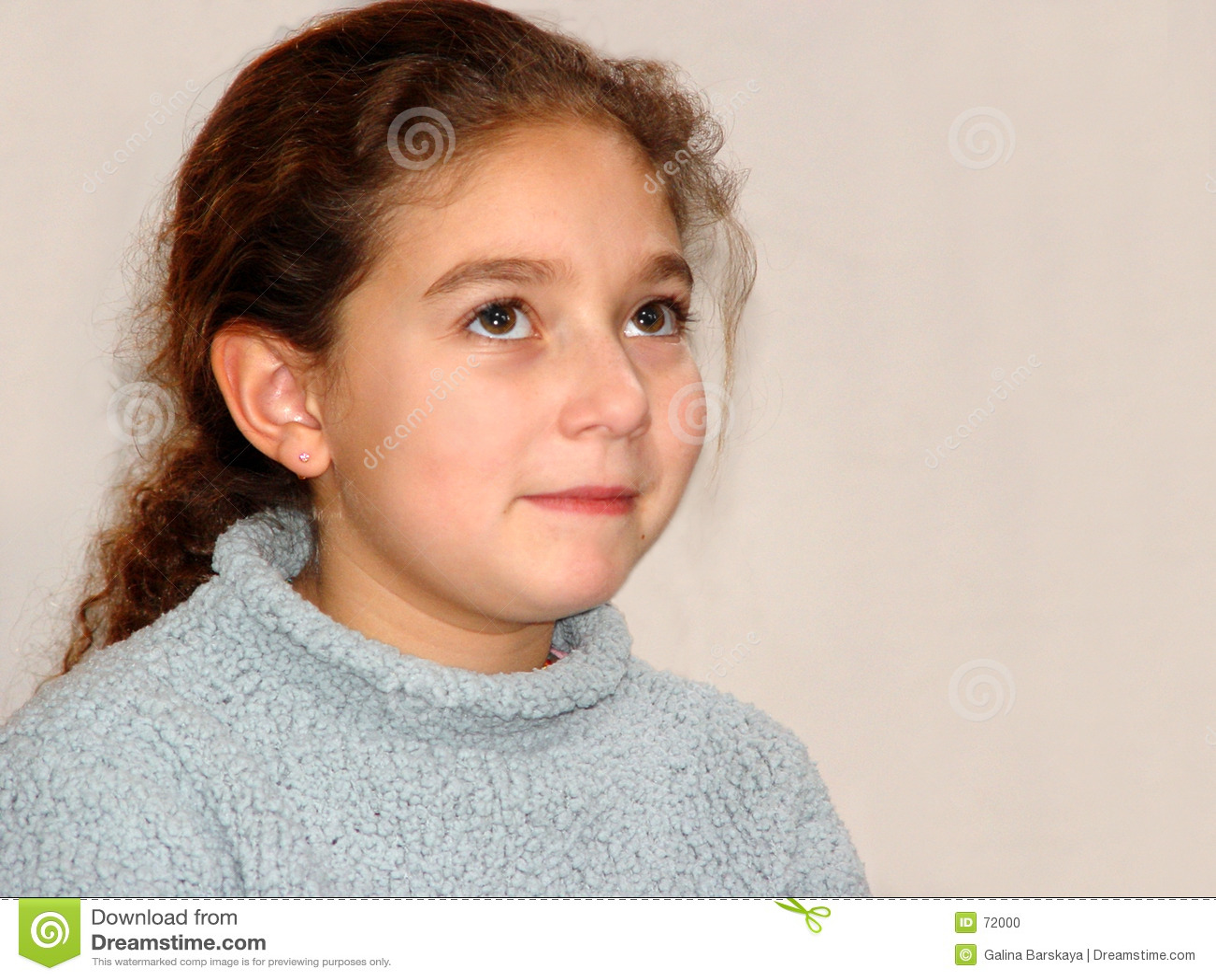 χαριτωμένο κορίτσι