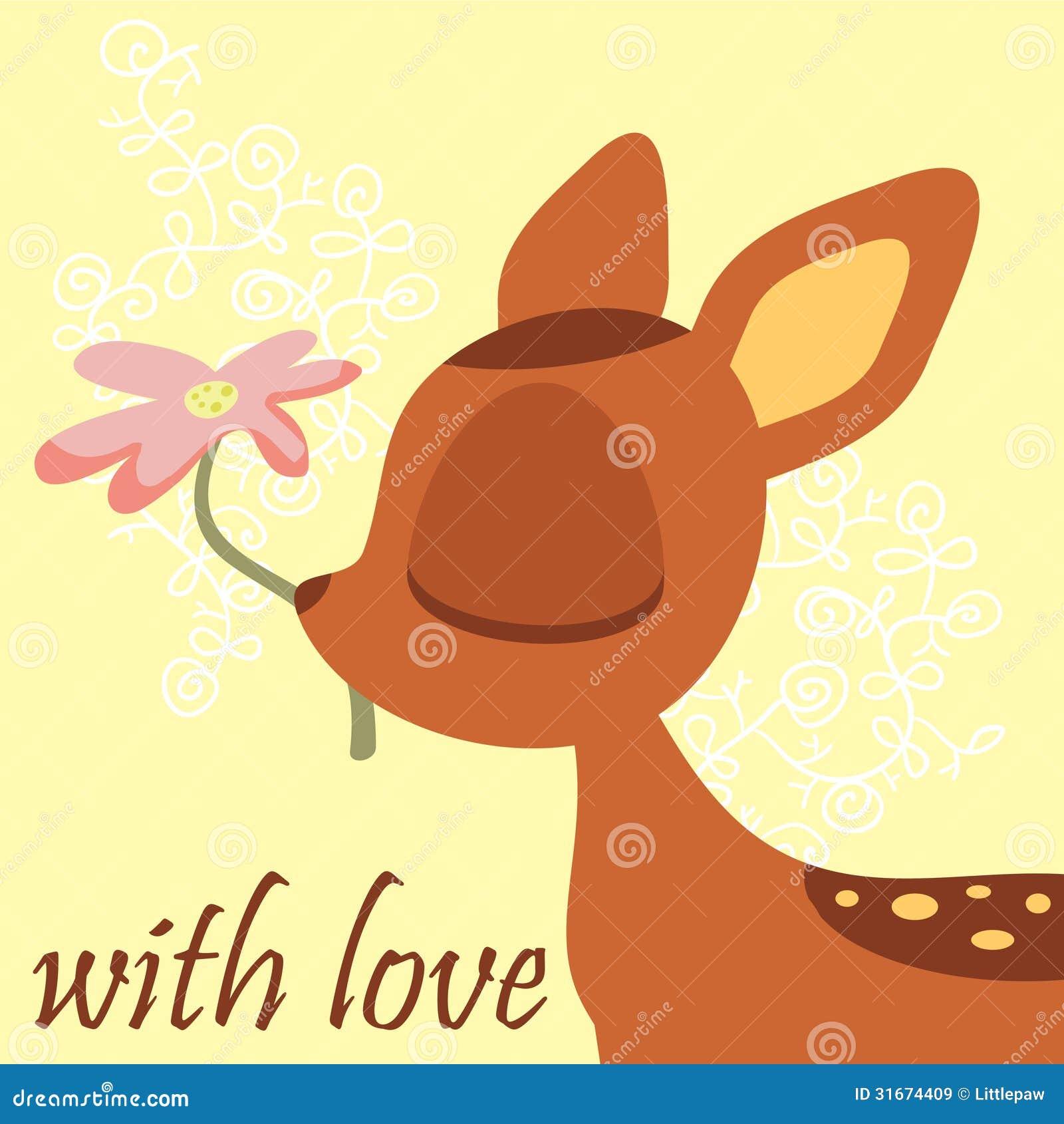 Χαριτωμένο fawn
