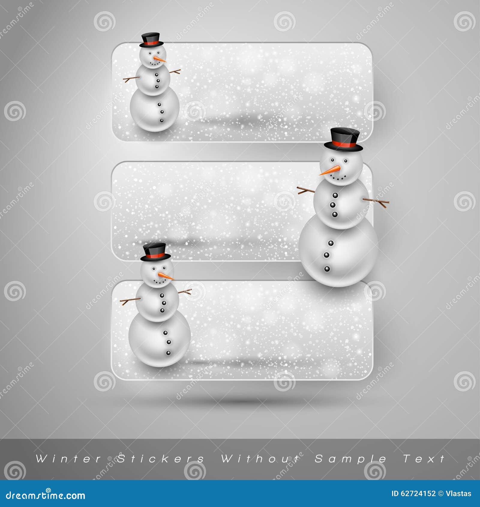 Download Χειμερινές αυτοκόλλητες ετικέττες με το χιονάνθρωπο το σχέδιο εύκολο επιμελείται τα στοιχεία στο διάνυσμα Διανυσματική απεικόνιση - εικονογραφία από οριοθετημένα, δεκέμβριος: 62724152