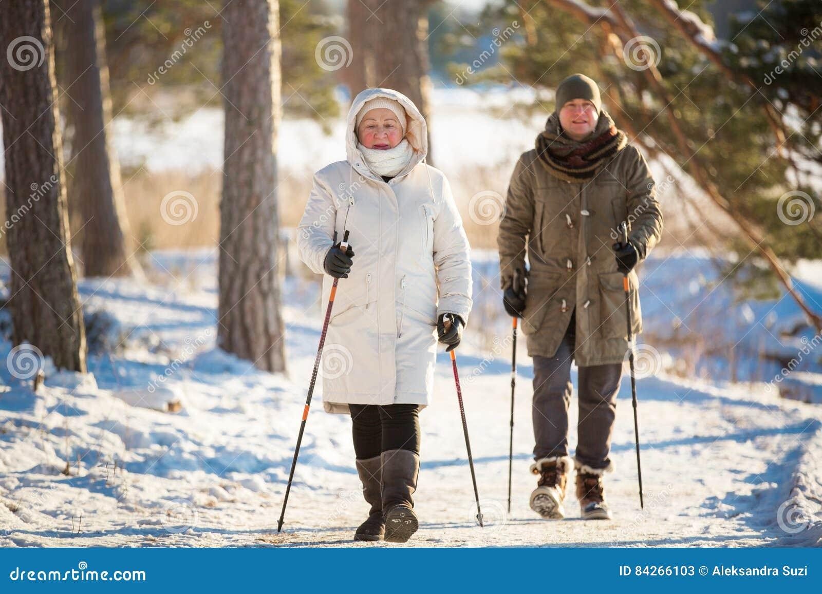 Χειμερινός αθλητισμός στη Φινλανδία - σκανδιναβικό περπάτημα