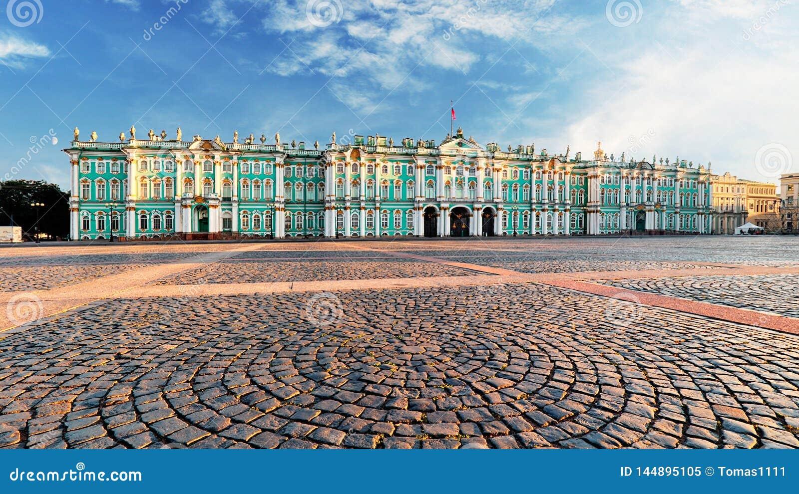 Χειμερινό παλάτι - ερημητήριο σε Άγιο Πετρούπολη, Ρωσία
