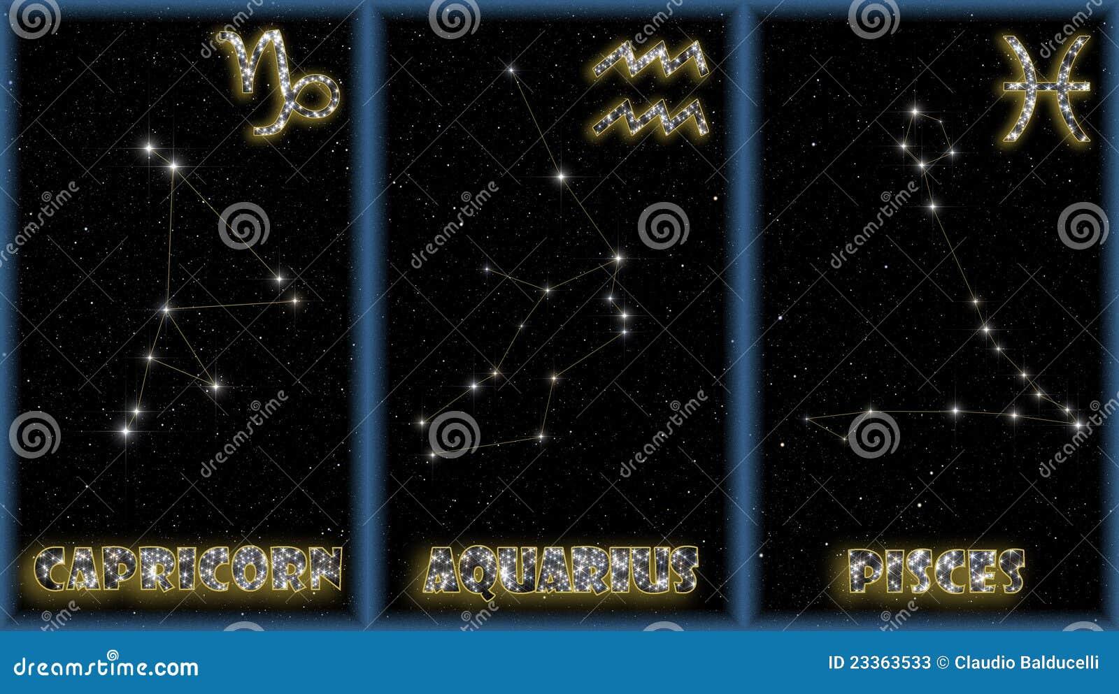 χειμερινό zodiac σημαδιών