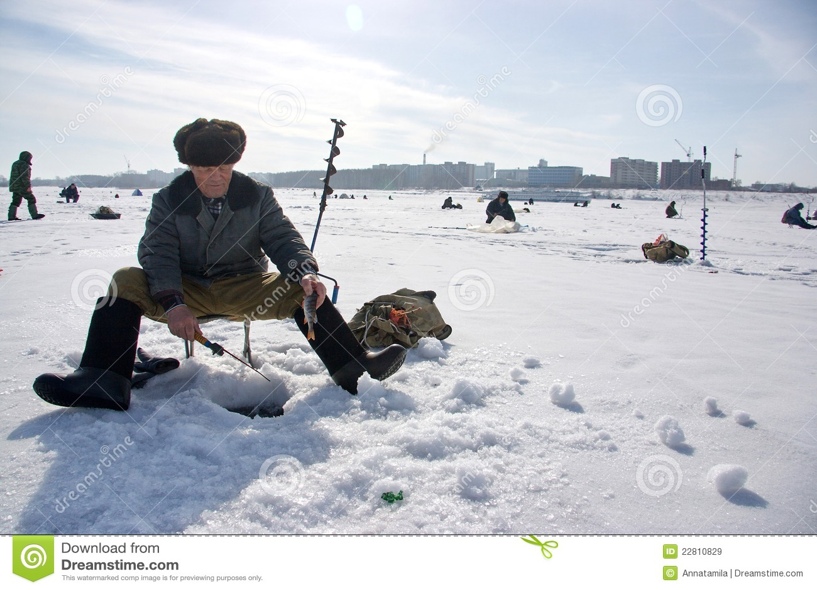 χειμώνας αλιείας