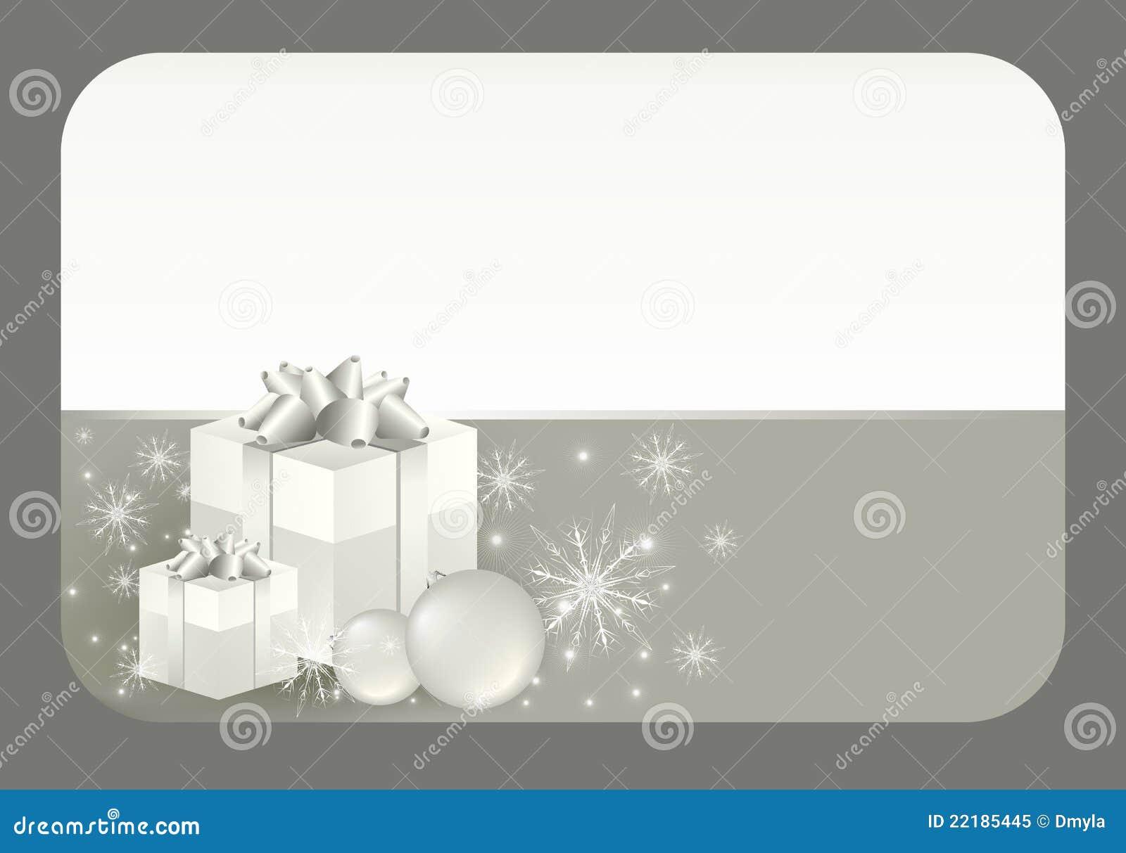 χειμώνας δώρων καρτών