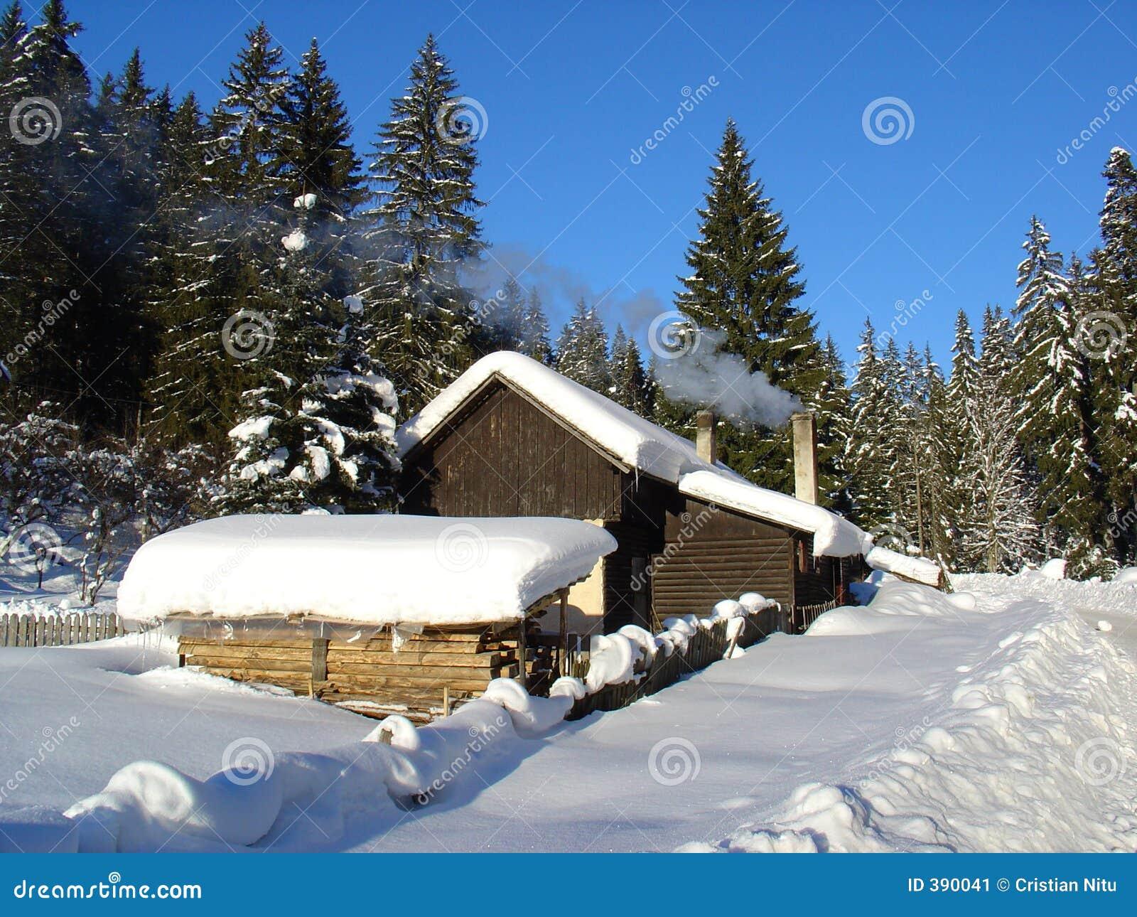 χειμώνας καλυβών