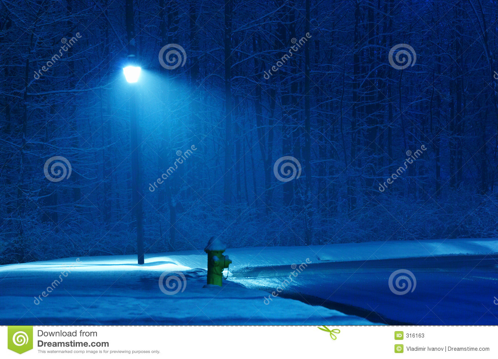 χειμώνας νύχτας