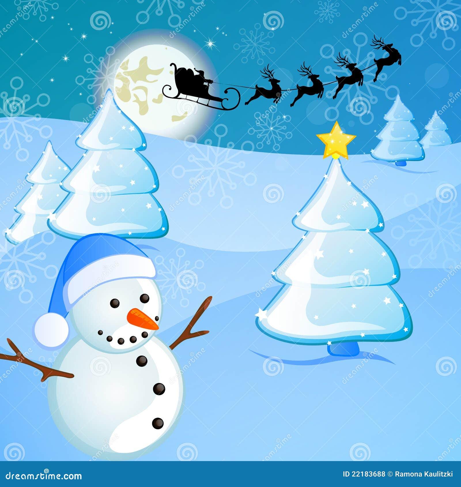 χειμώνας σκηνής Χριστου&gamma