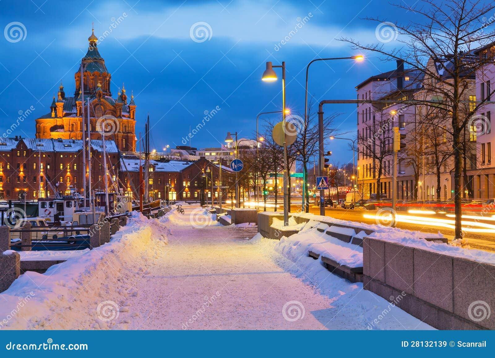 Χειμώνας στο Ελσίνκι