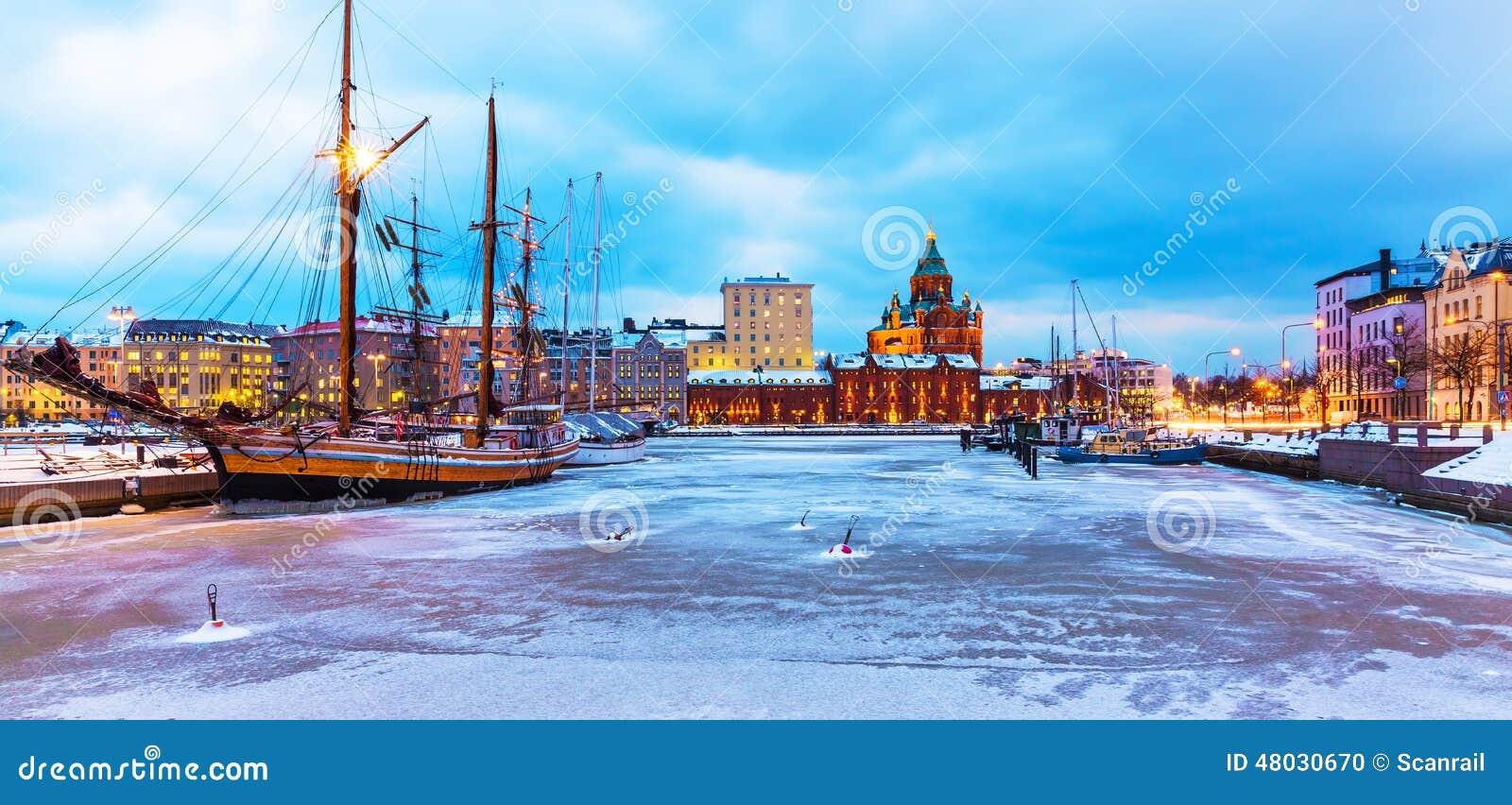 Χειμώνας στο Ελσίνκι, Φινλανδία