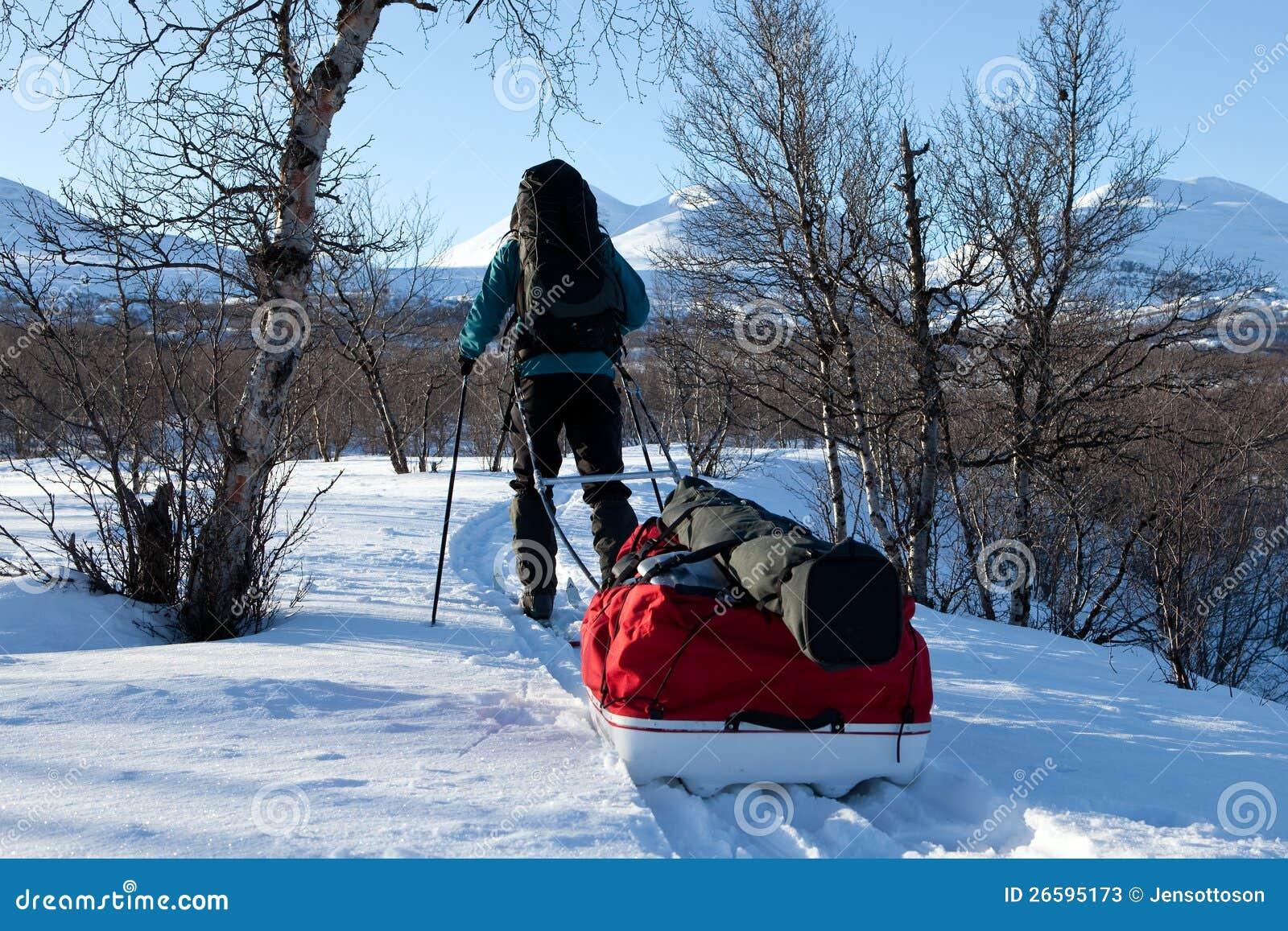 Χειμώνας στο Kungsleden