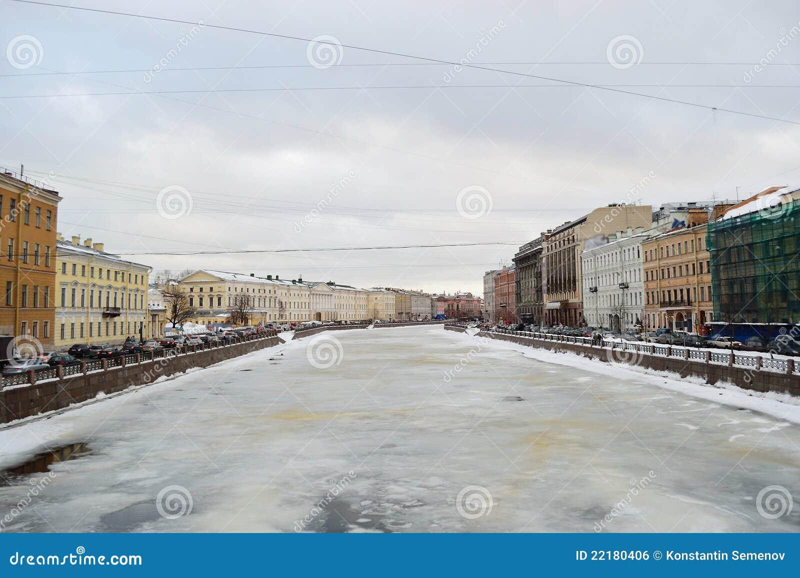 χειμώνας του ST ποταμών της Π