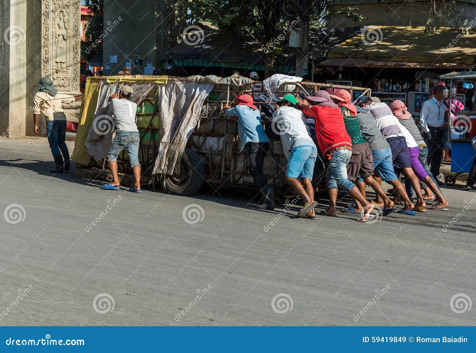 Χειραποσκευή στην Καμπότζη