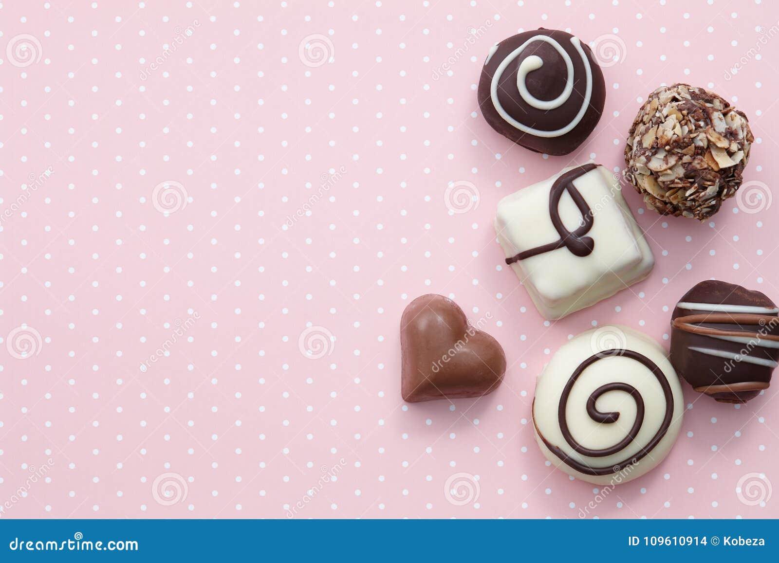 Χειροποίητα γλυκά καραμελών σοκολάτας