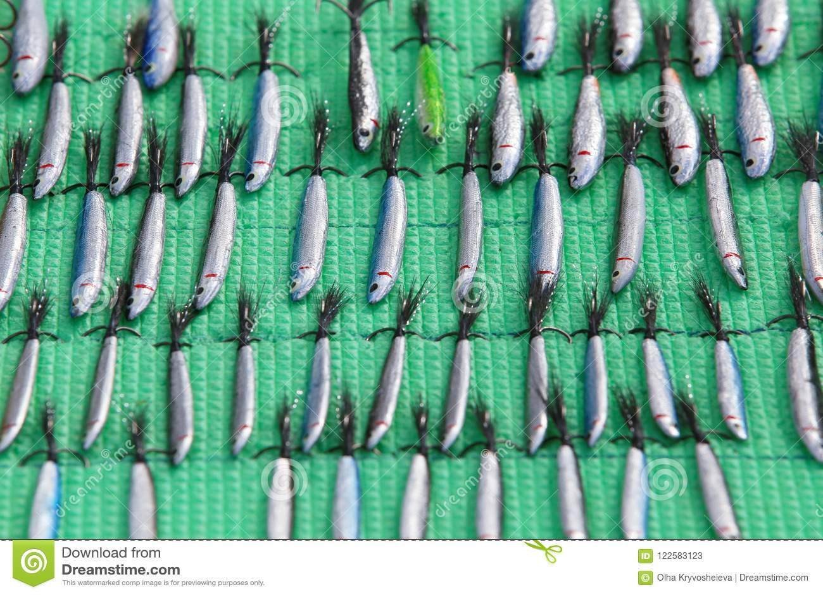 Χειροποίητα δολώματα, εξοπλισμοί και wobblers κουταλιών Θέλγητρα και εξαρτήματα αλιείας
