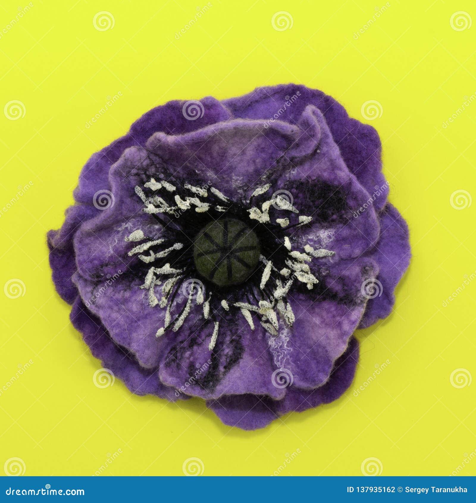 Χειροποίητο αισθητό, λουλούδια