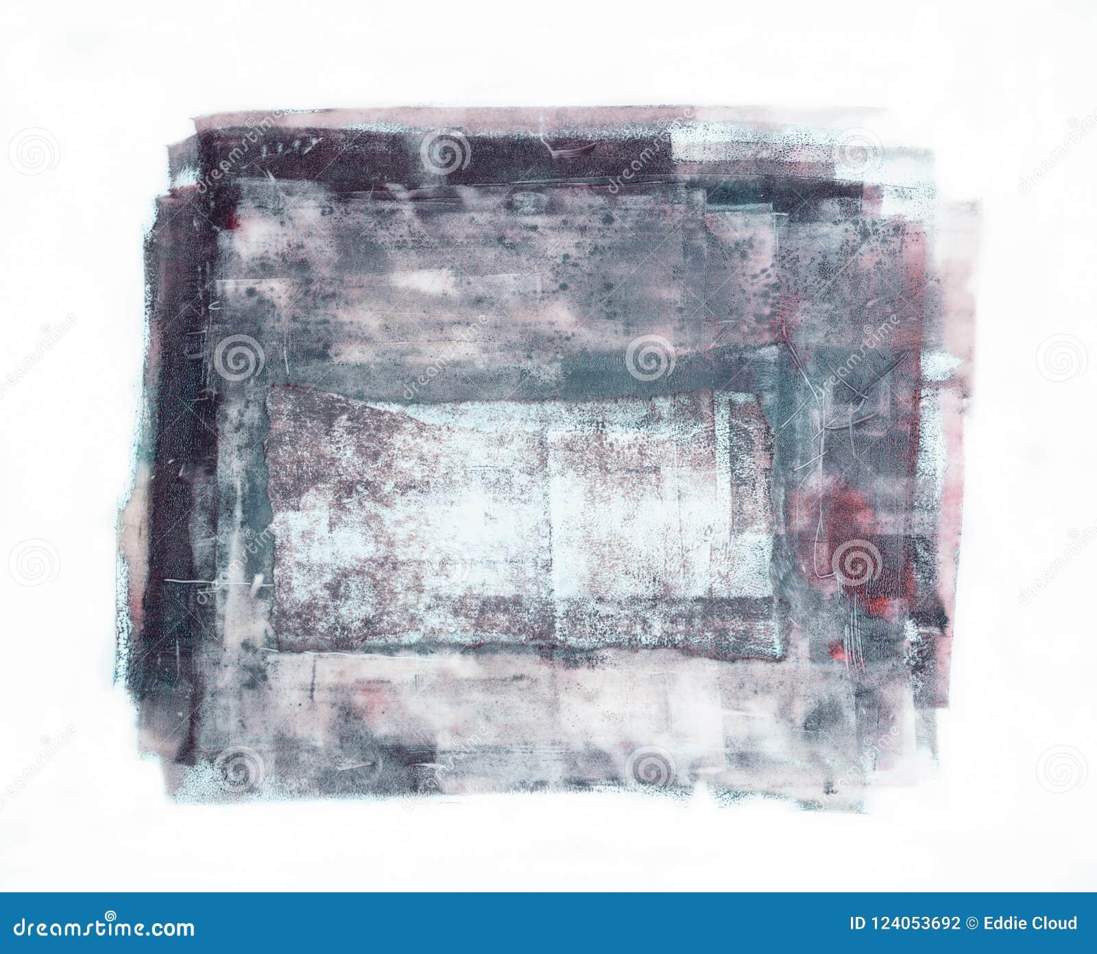 Χειροποίητο αφηρημένο Scratchy μπάλωμα που απομονώνεται στο άσπρο υπόβαθρο