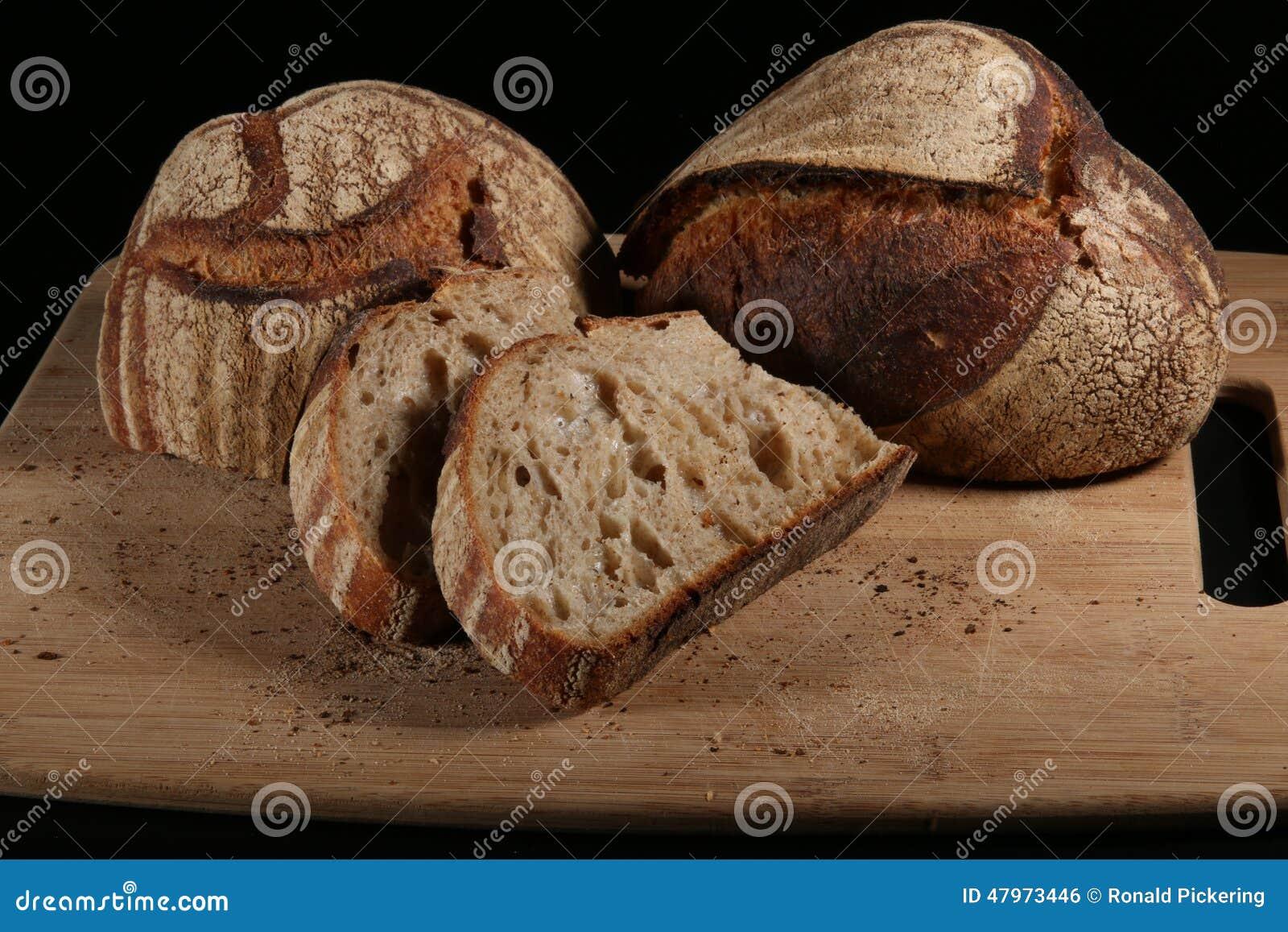 Χειροτεχνική μαγιά 2 ψωμιού