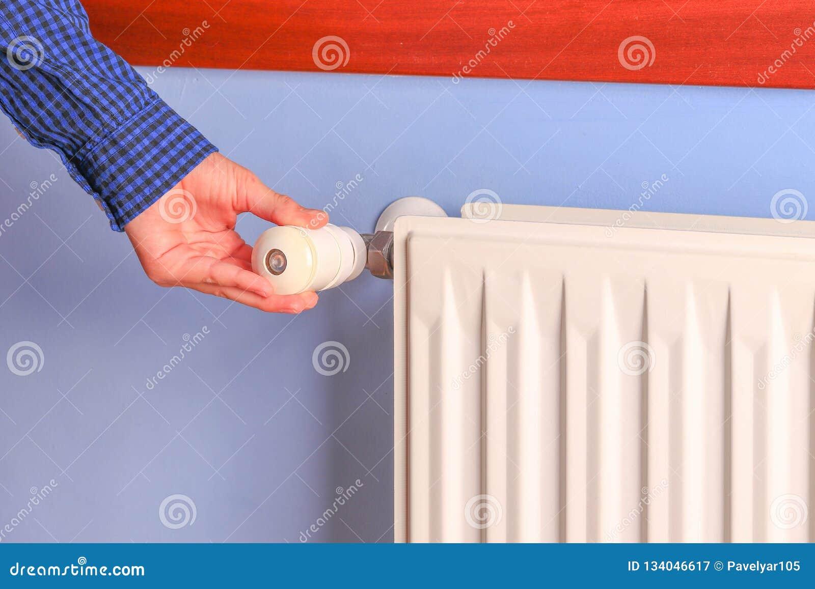 Χειρωνακτικό θερμαντικό σώμα εξογκωμάτων ρύθμισης