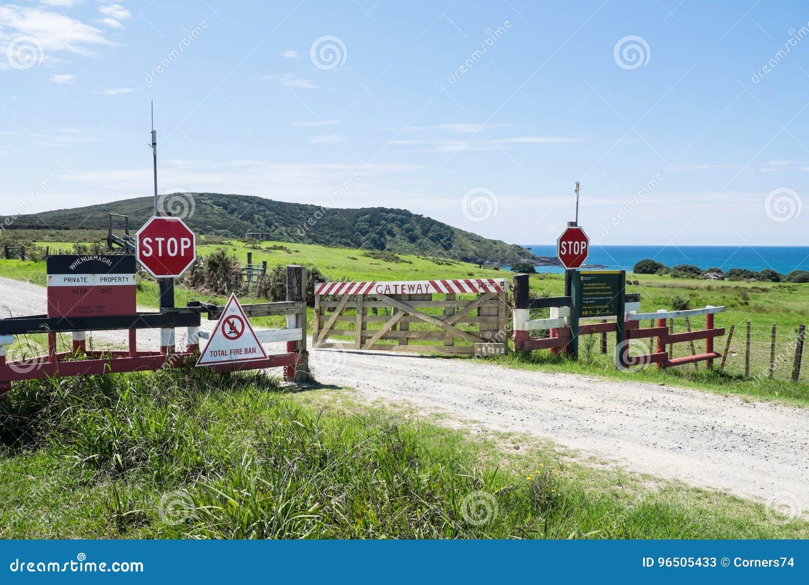 Χερσόνησος Karikari, γη του βορρά, Νέα Ζηλανδία, NZ - 26 Φεβρουαρίου, 20