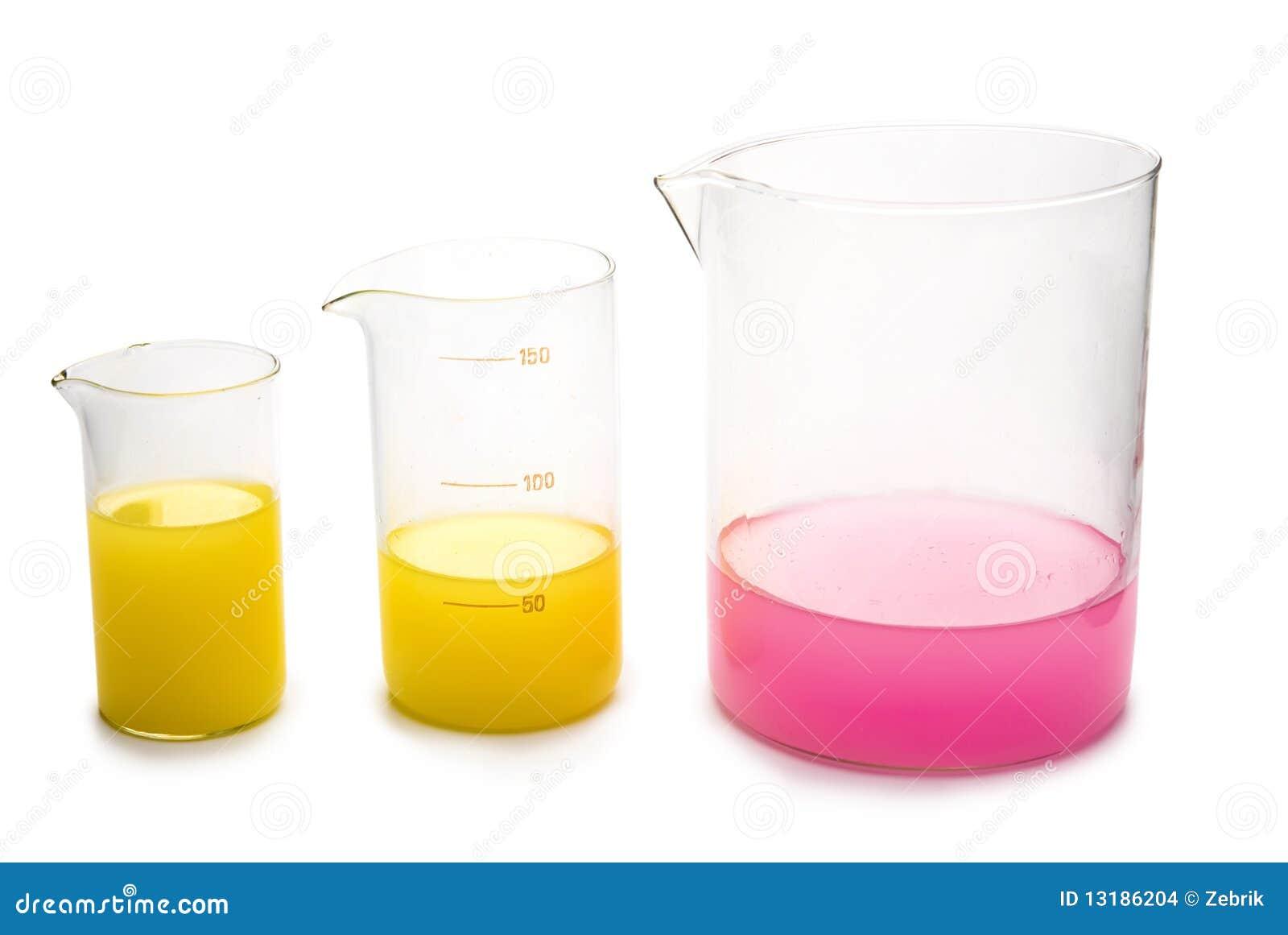 χημικά γυαλικά διαφανή