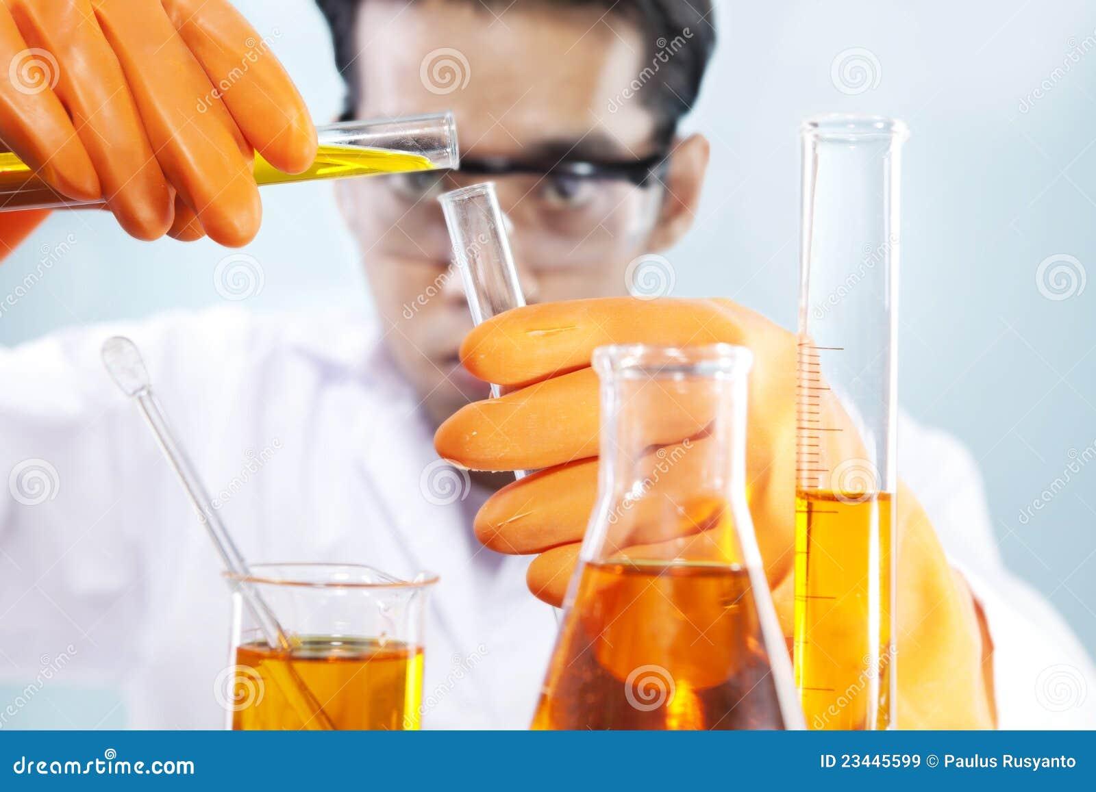 χημική έρευνα εργαστηρίων