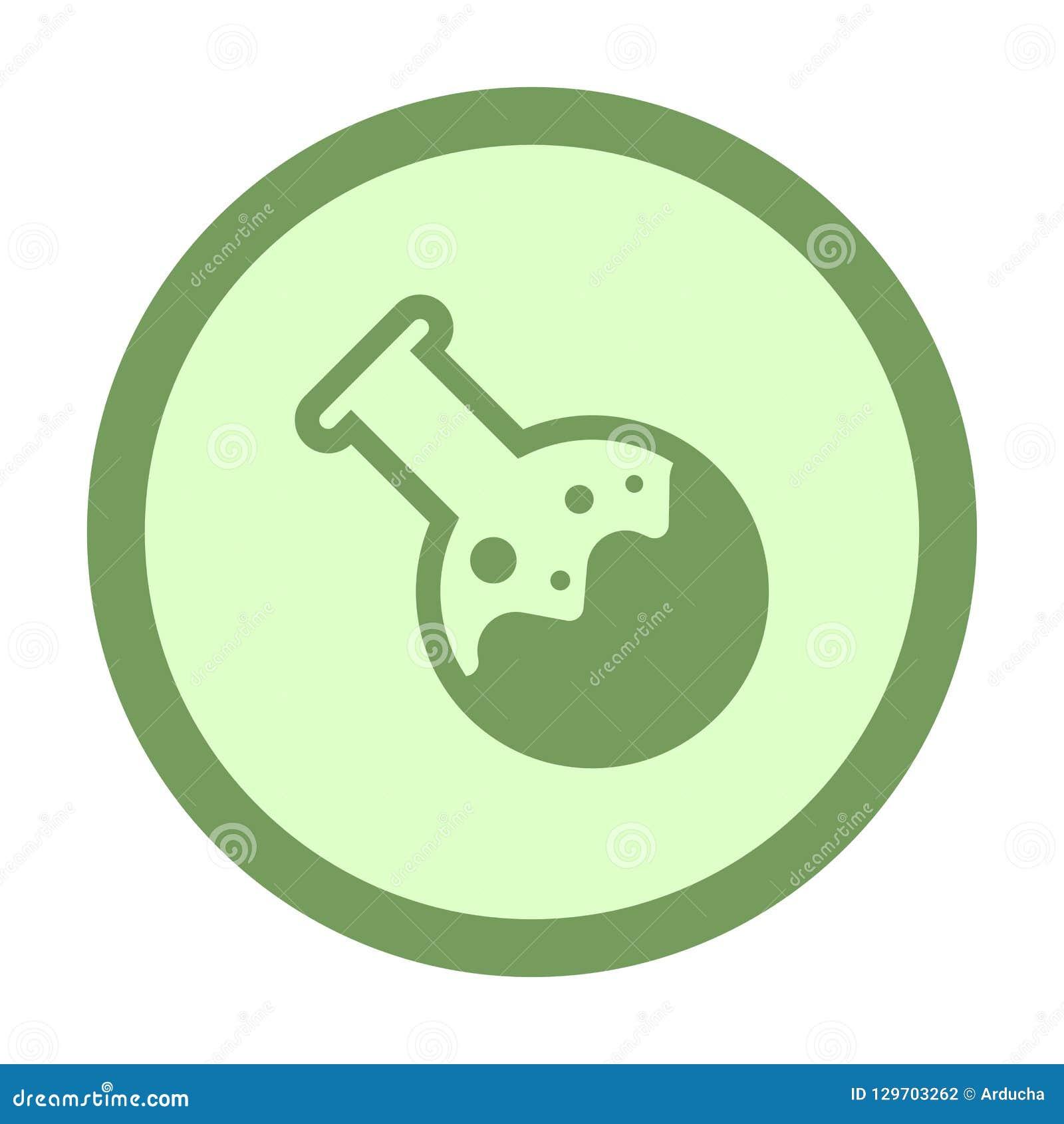 χημικό κουμπί κύκλων σωλήνων