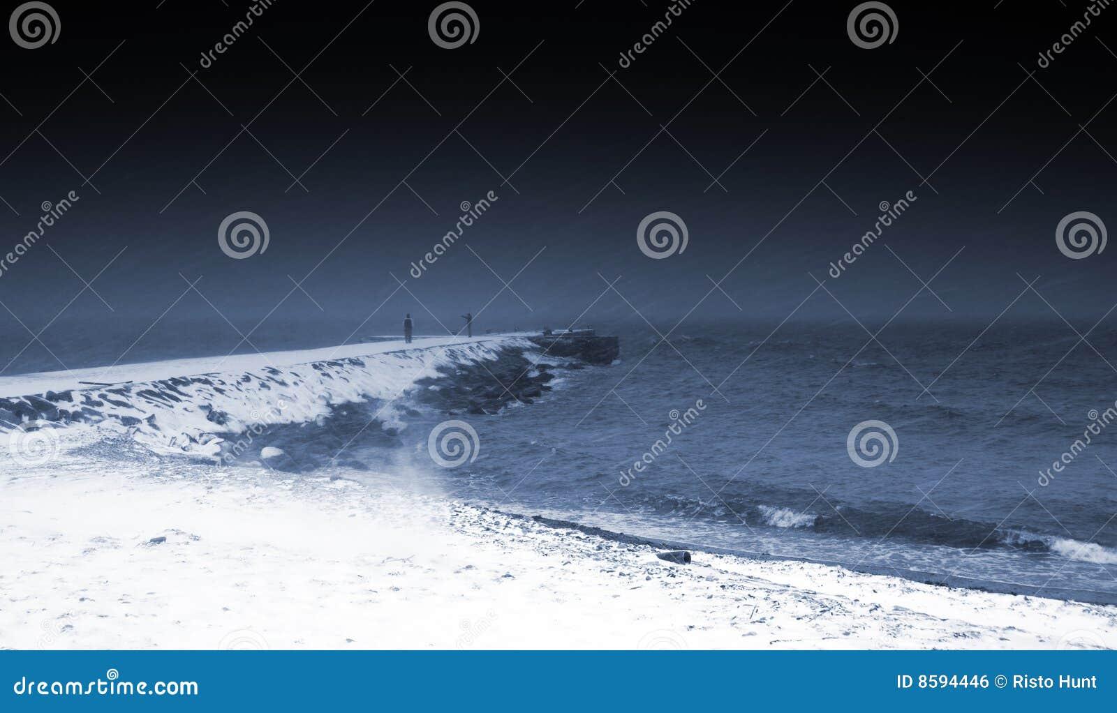 χιονώδης καιρός μουλαριώ