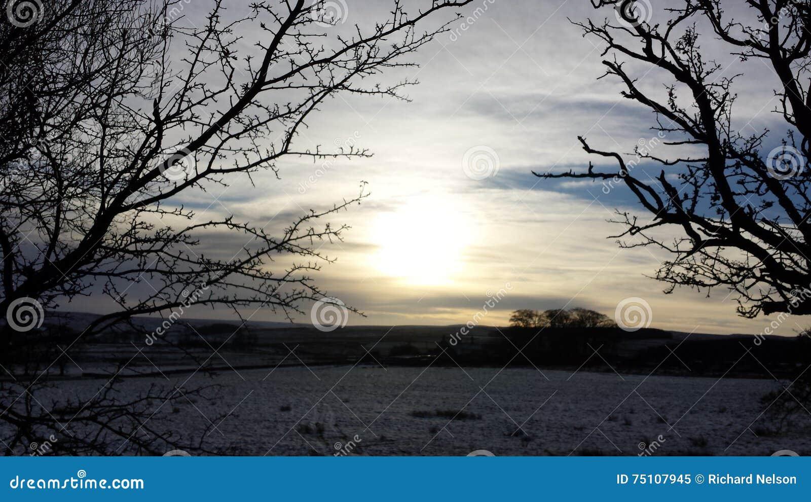 Χιονώδης Northumberland