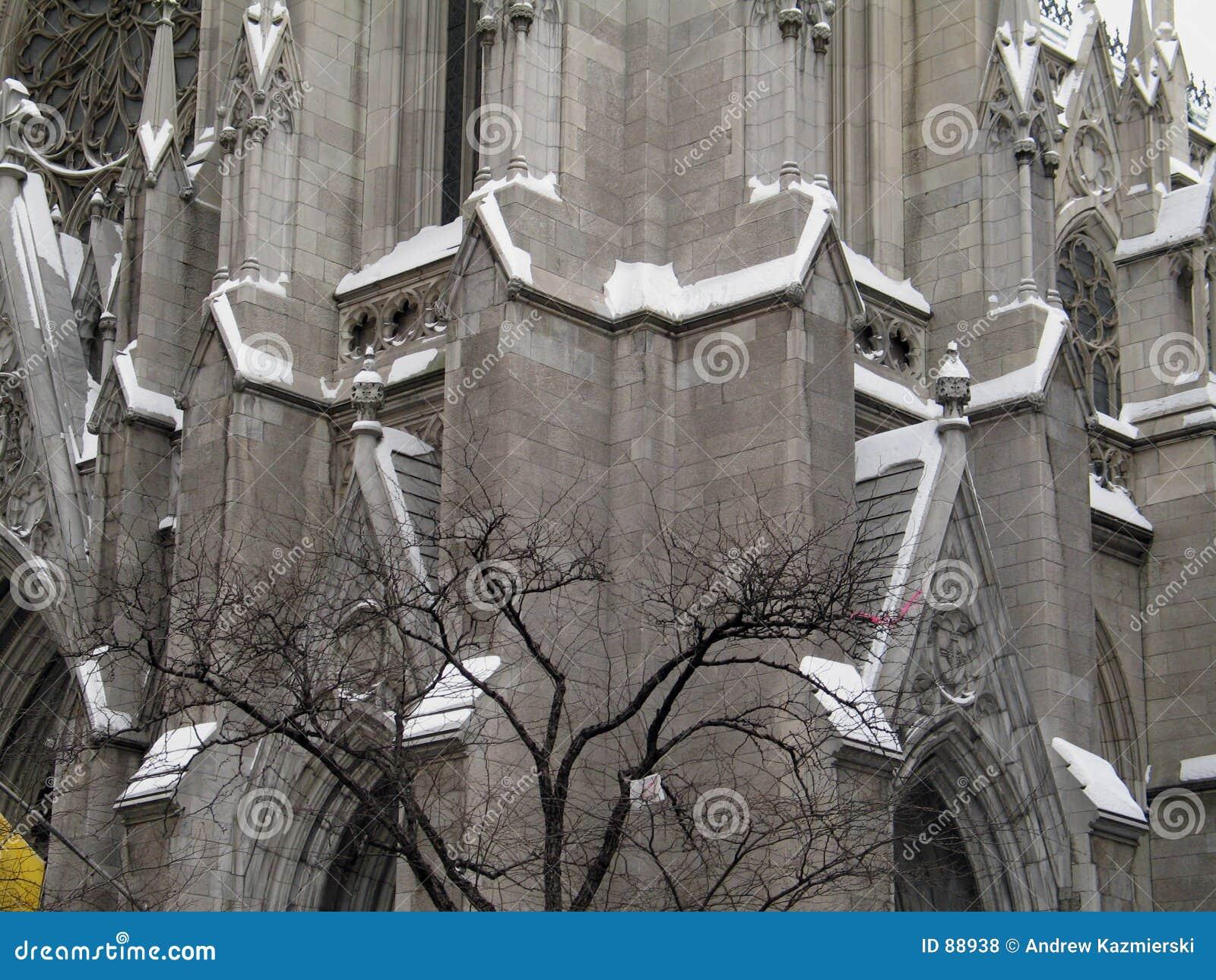 χιόνι καθεδρικών ναών