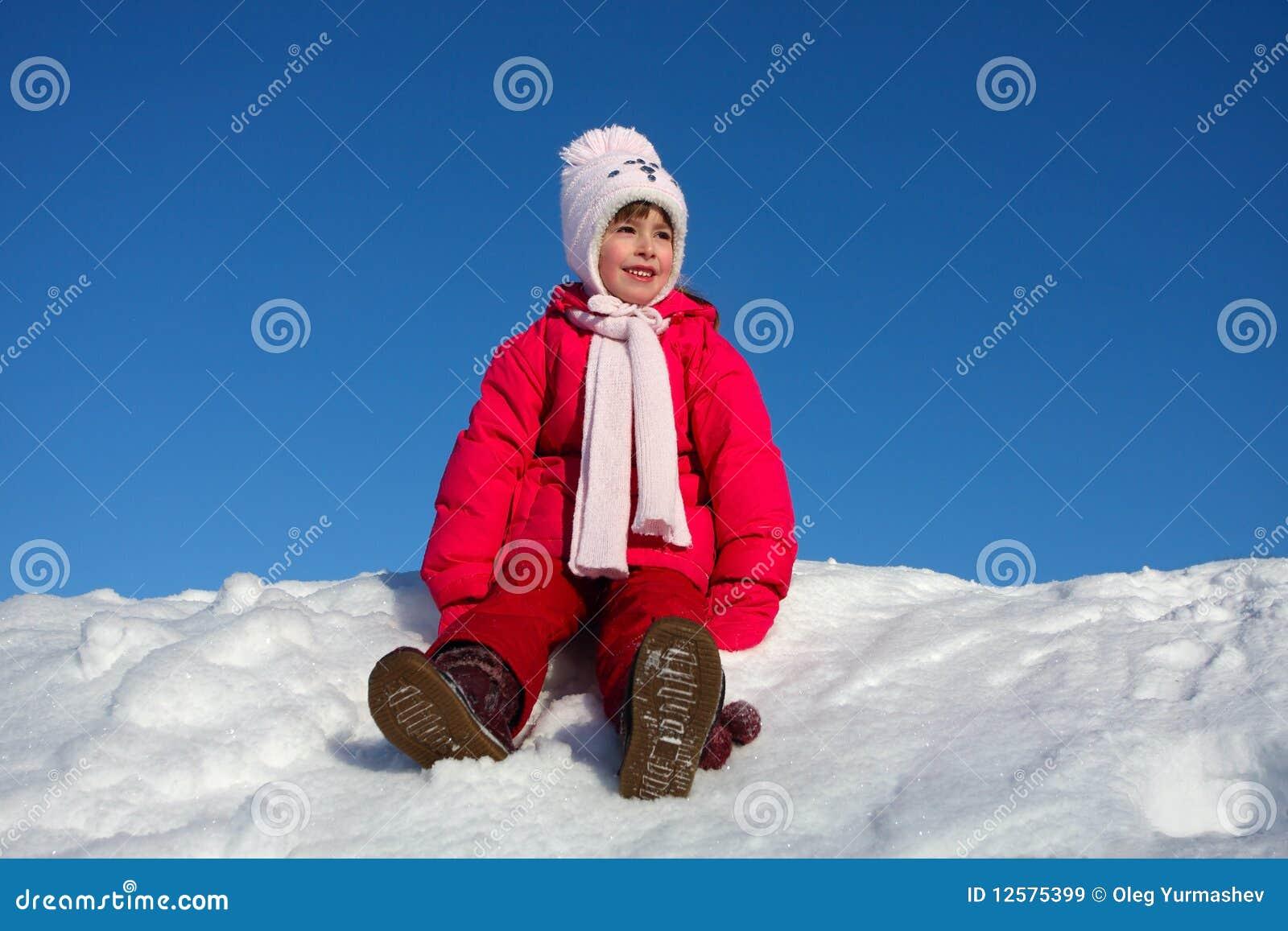 χιόνι κοριτσιών