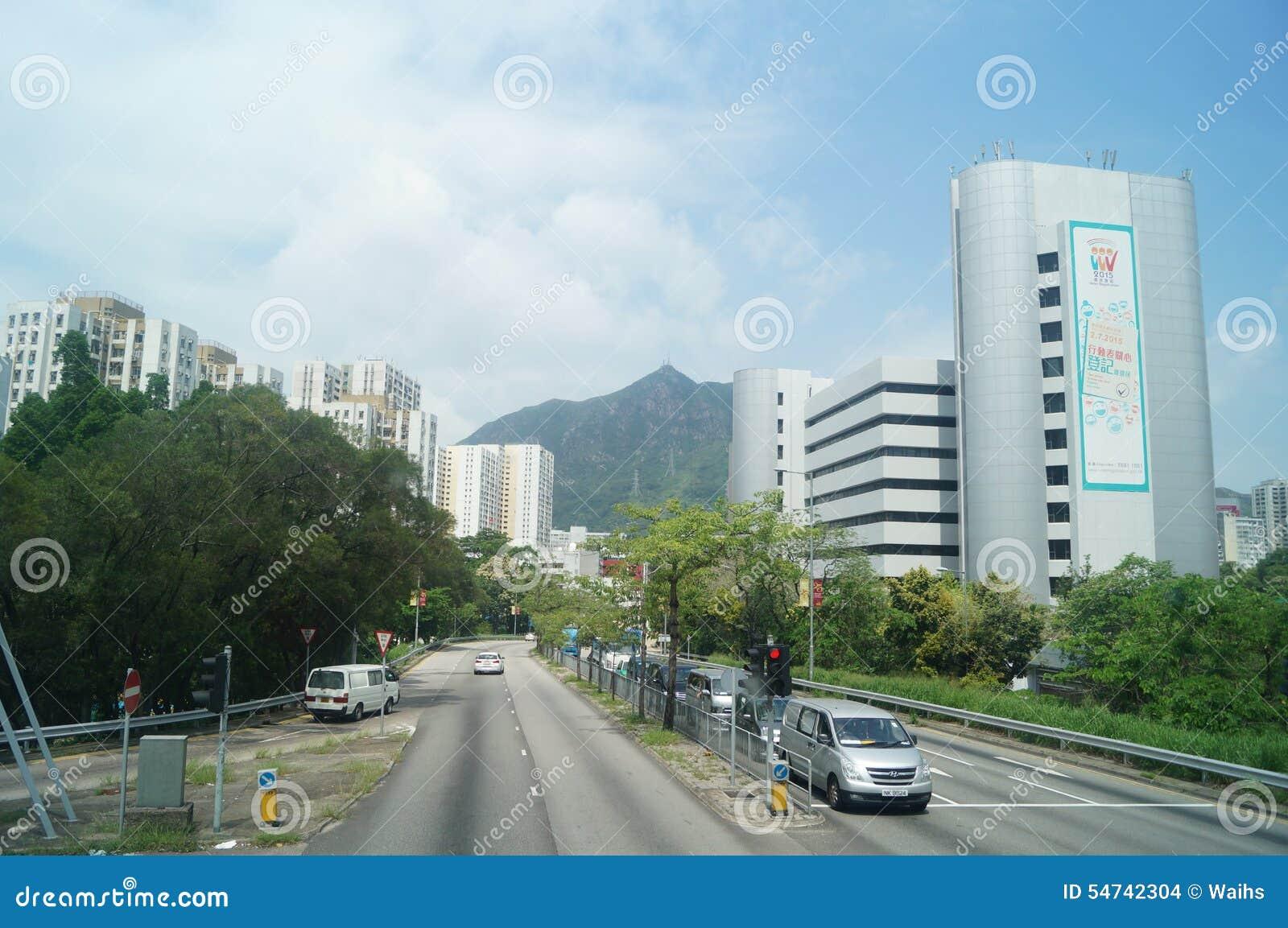 Χογκ Κογκ, Κίνα: Οδική κυκλοφορία