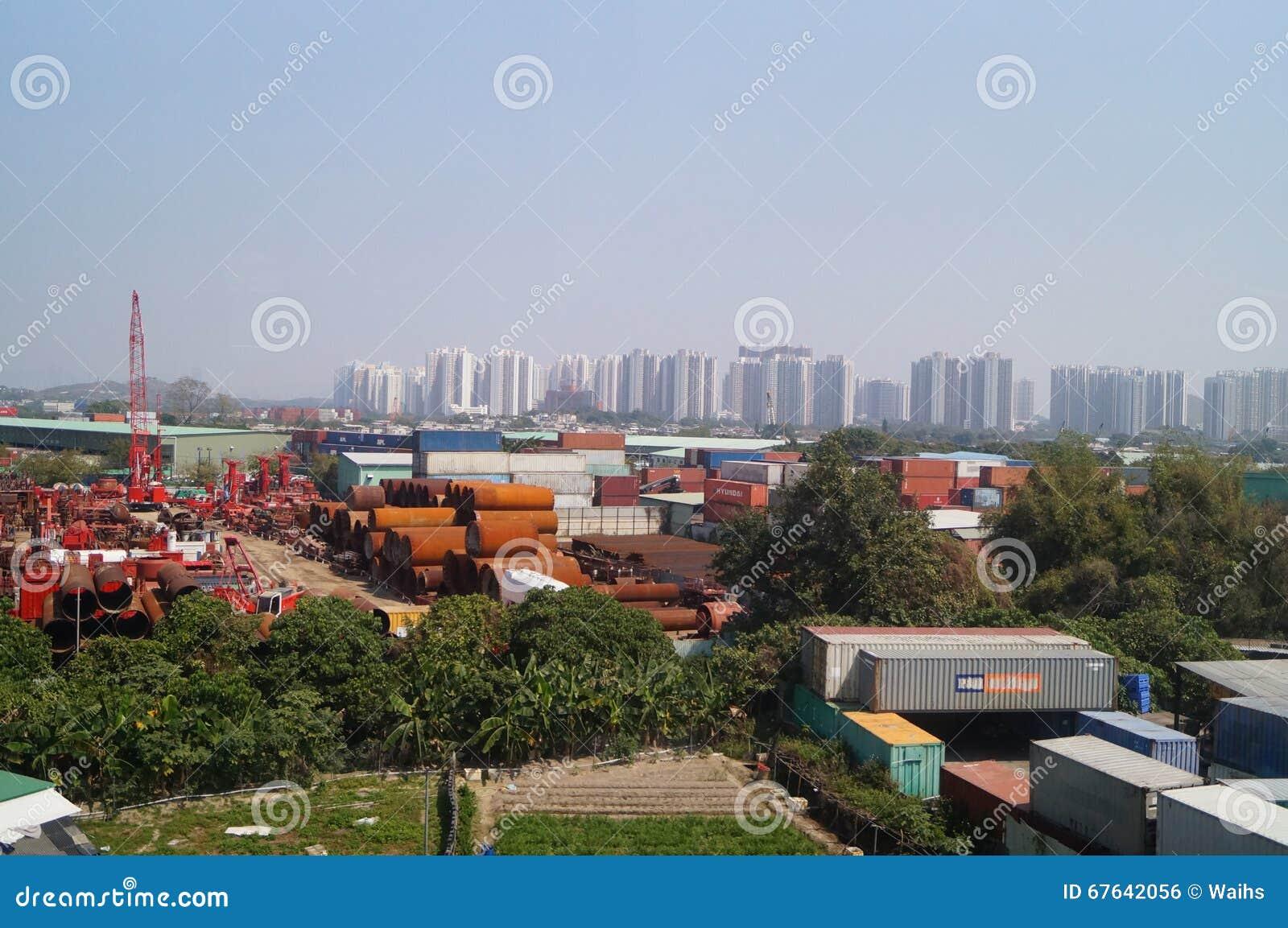 Χογκ Κογκ, Κίνα: Φυσικό τοπίο Mun Tuen