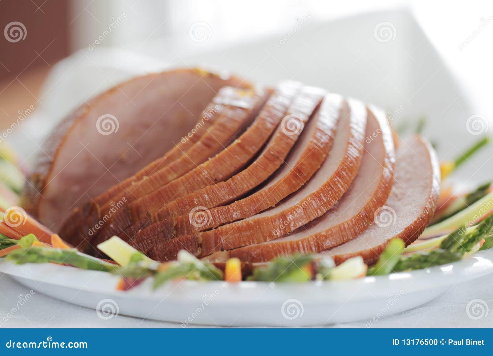 χοιρινό κρέας ζαμπόν ρηχό
