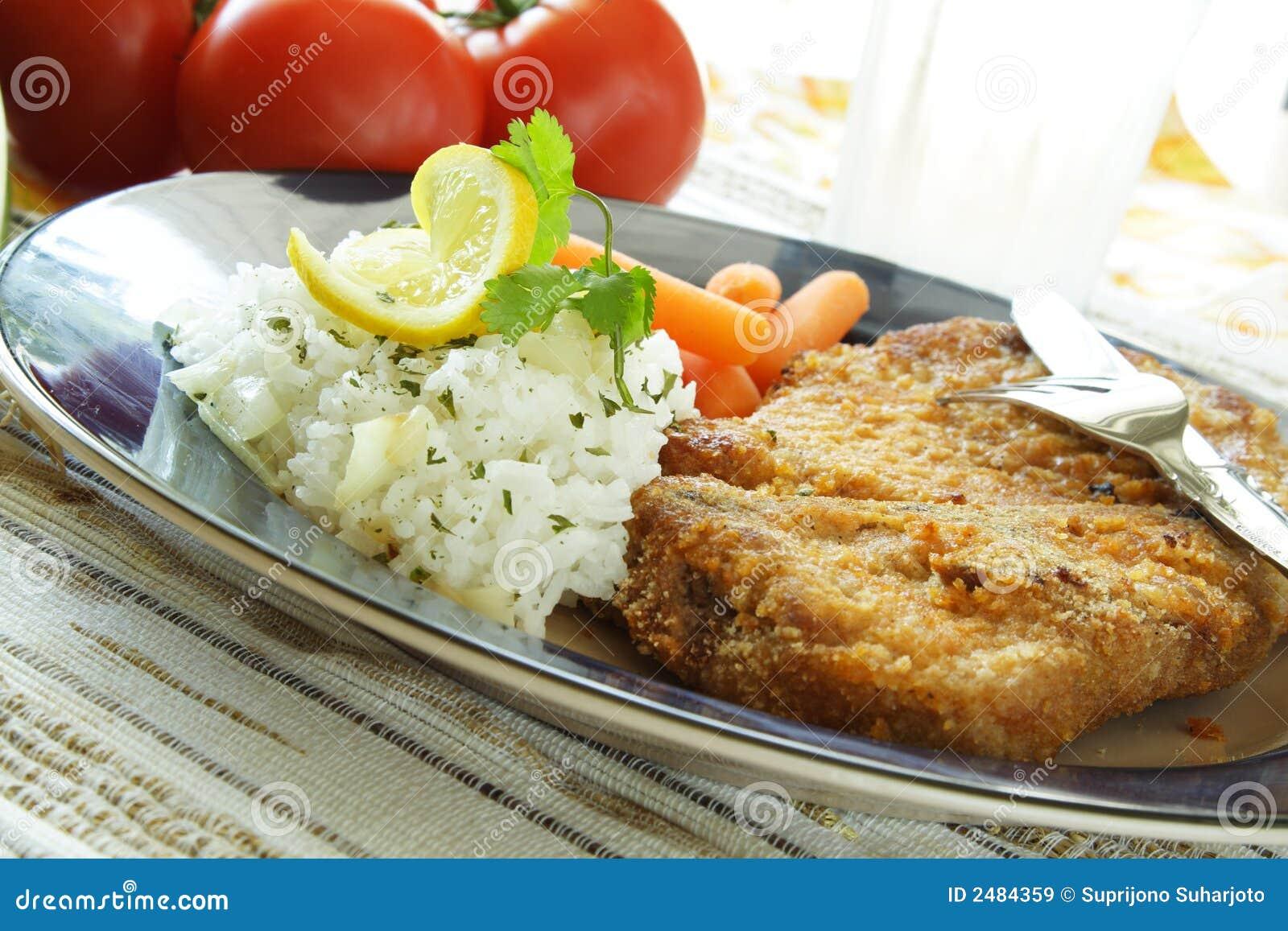 χοιρινό κρέας μπριζολών