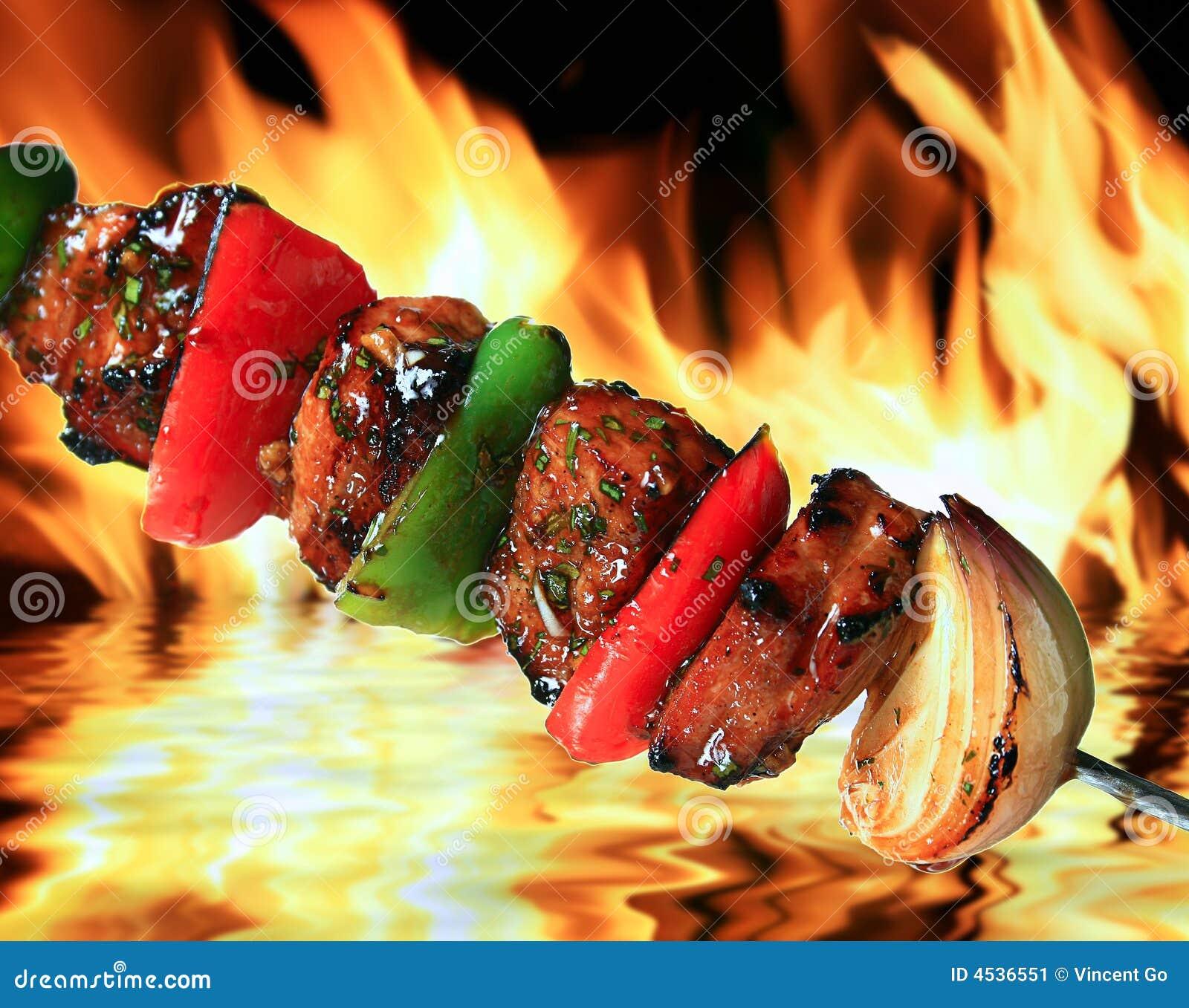 χοιρινό κρέας σχαρών