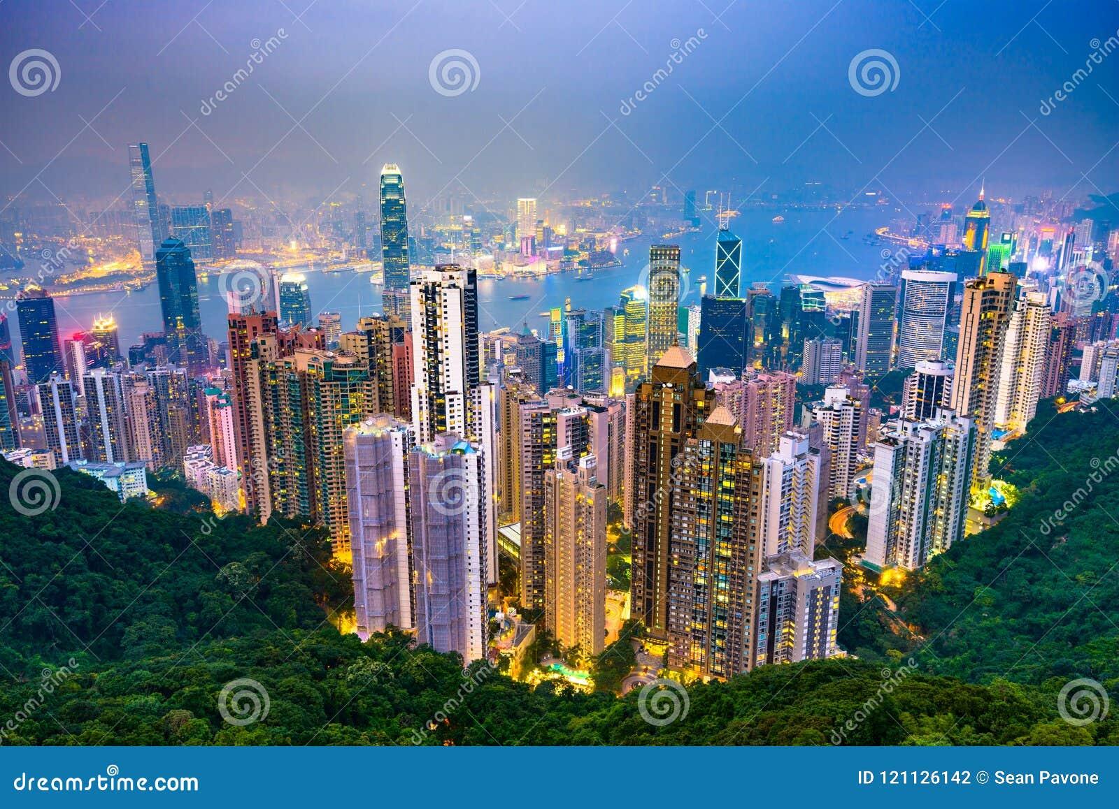 Χονγκ Κονγκ, ορίζοντας της Κίνας