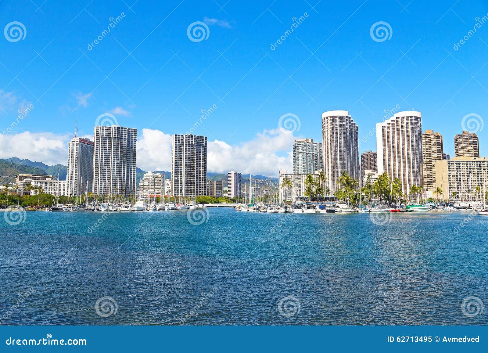 Χονολουλού σε ξημερώματα, Χαβάη