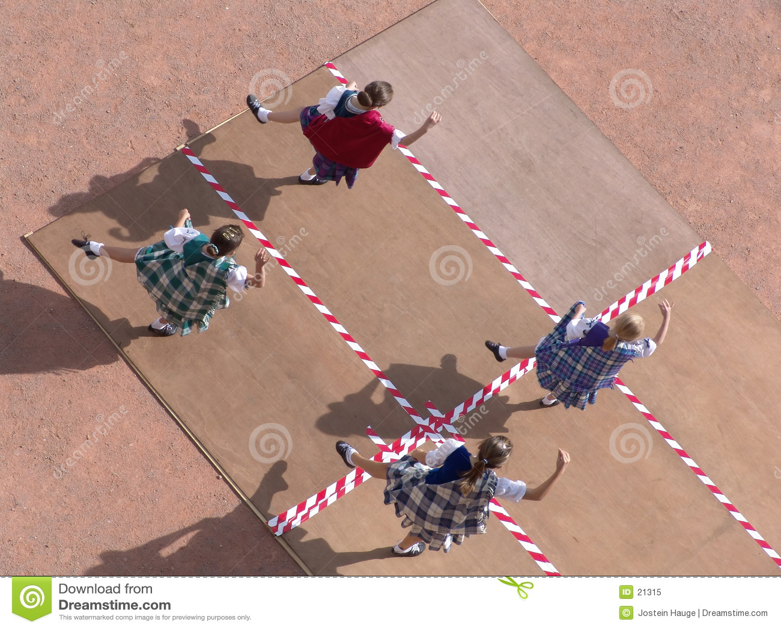 χορευτές σκωτσέζικα