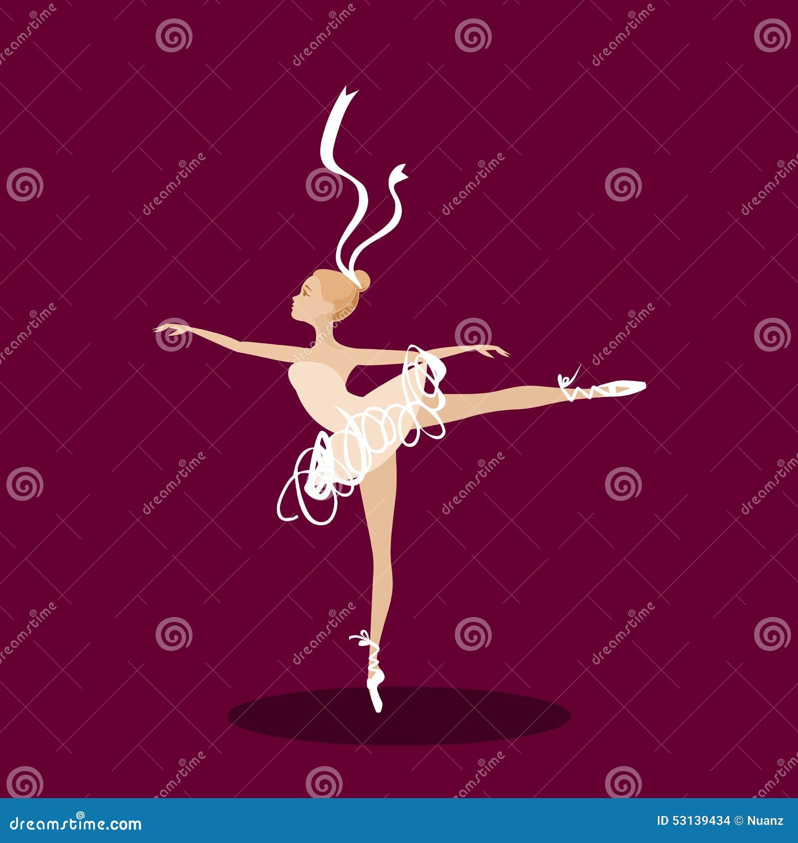Χορευτής μπαλέτου στη σκηνή