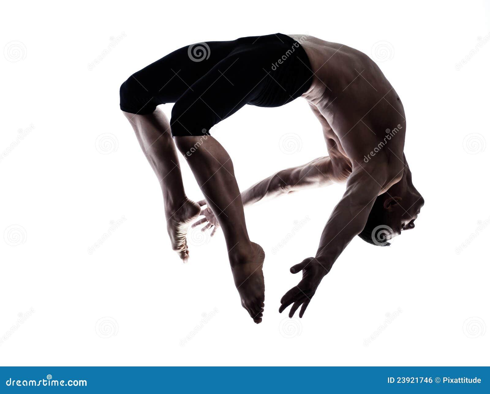 χορεύοντας γυμναστικό άτομο χορευτών μπαλέτου ακροβατών σύγχρονο