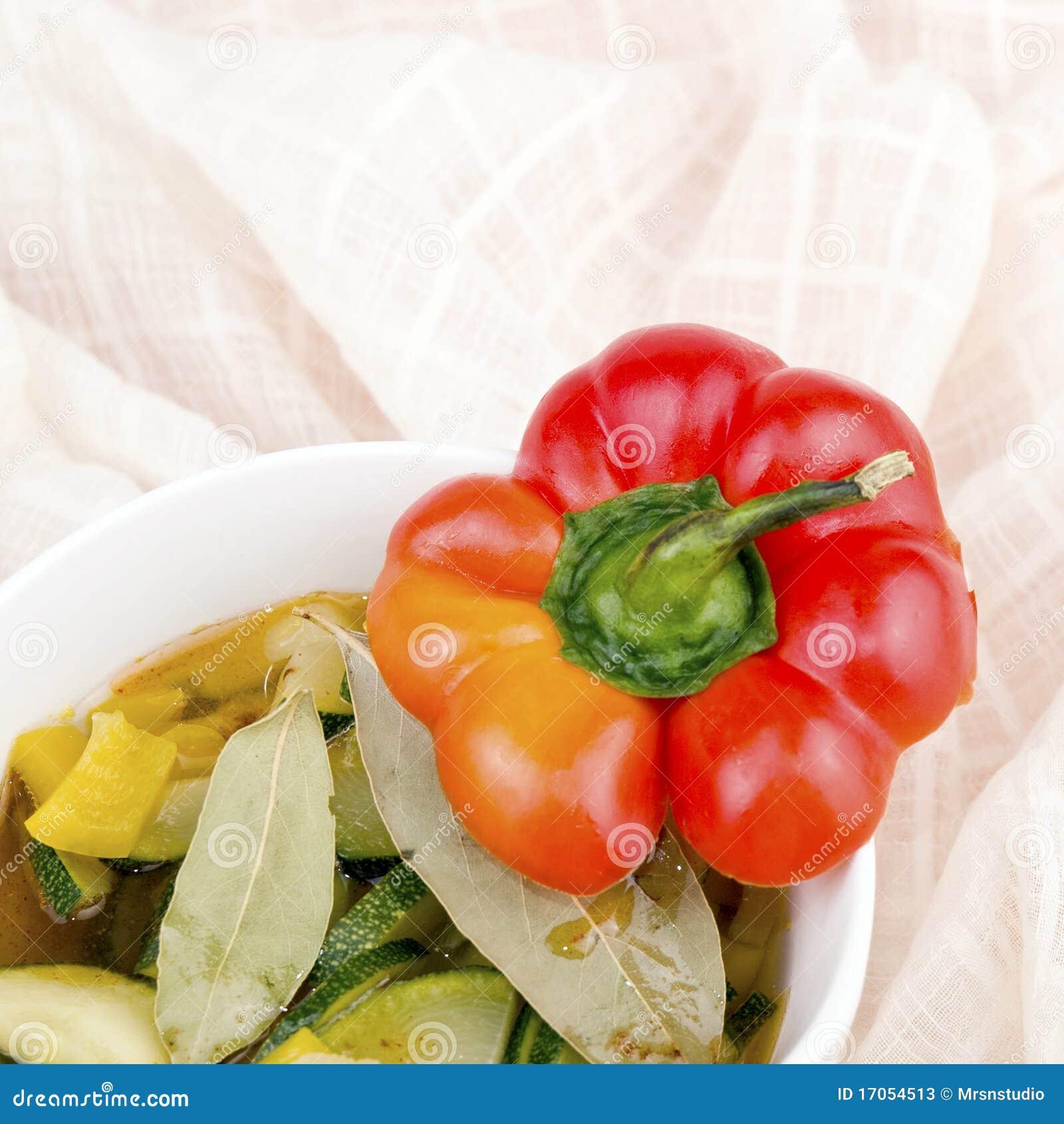 χορτοφάγος σούπας κύπελ